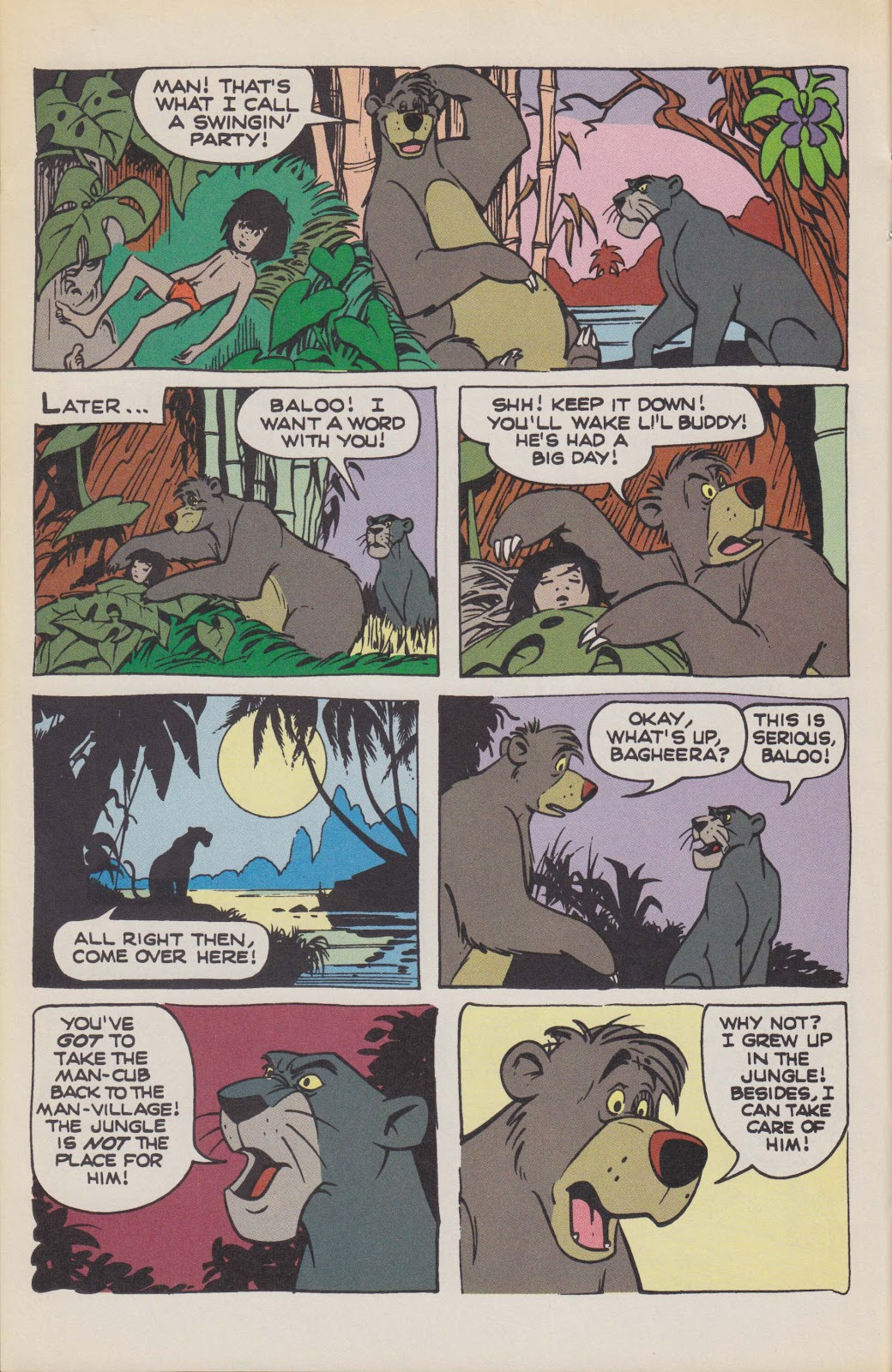 Read online The Jungle Book comic -  Issue # Full - 36