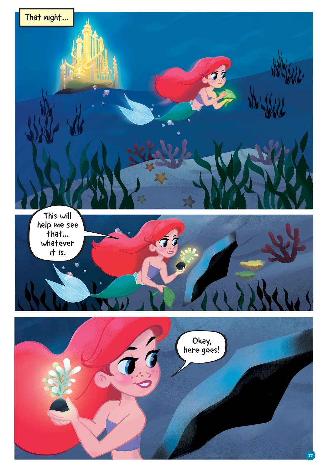 Read online Disney Princess: Ariel and the Sea Wolf comic -  Issue # Full - 15