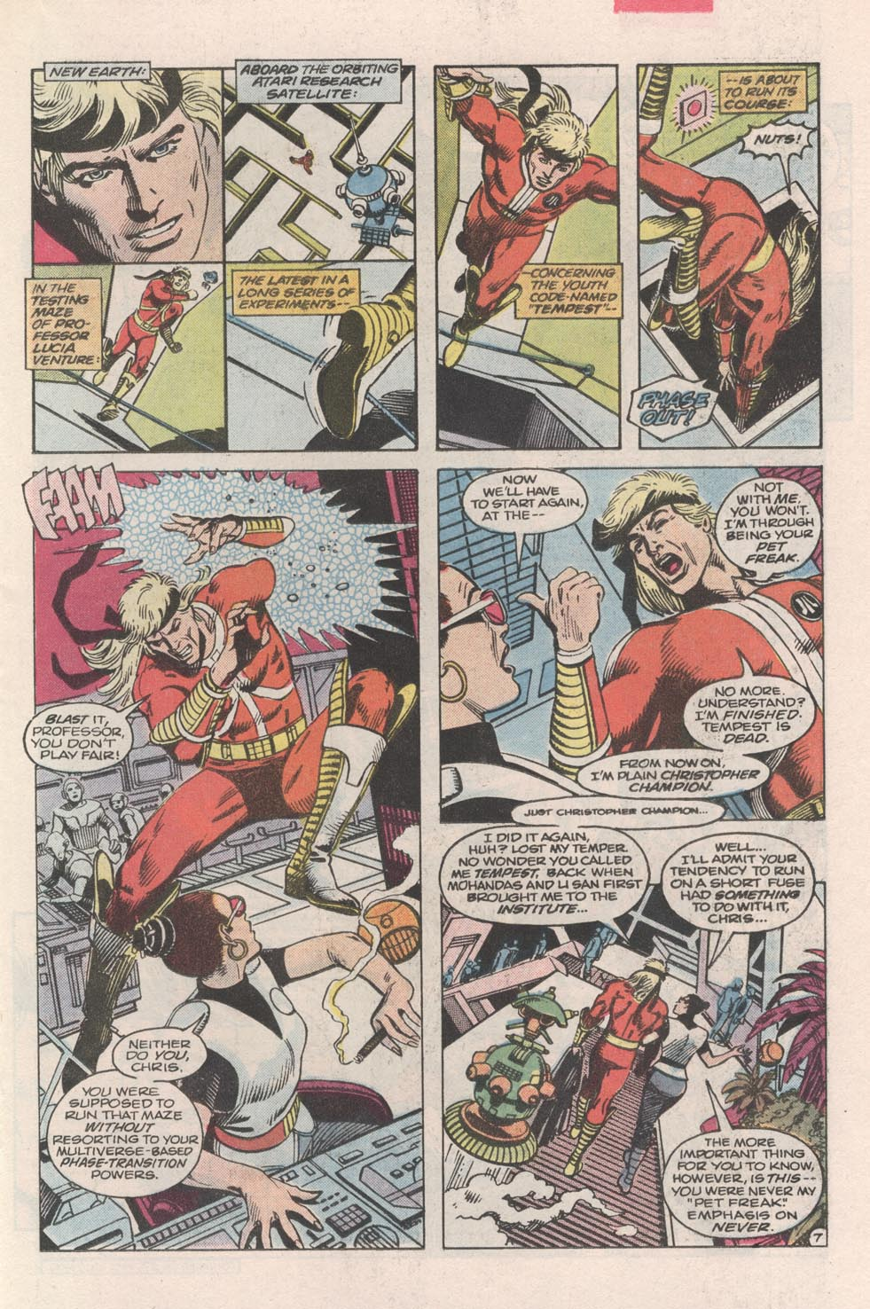 Read online Atari Force (1984) comic -  Issue #3 - 8