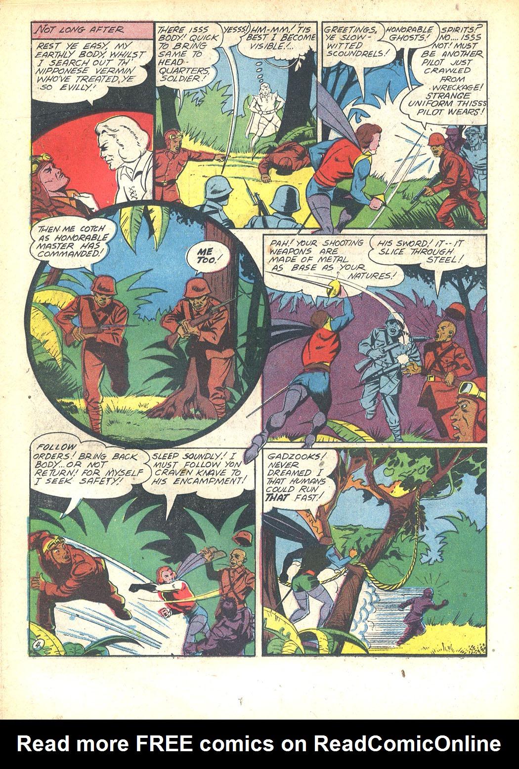 Read online Sensation (Mystery) Comics comic -  Issue #23 - 34