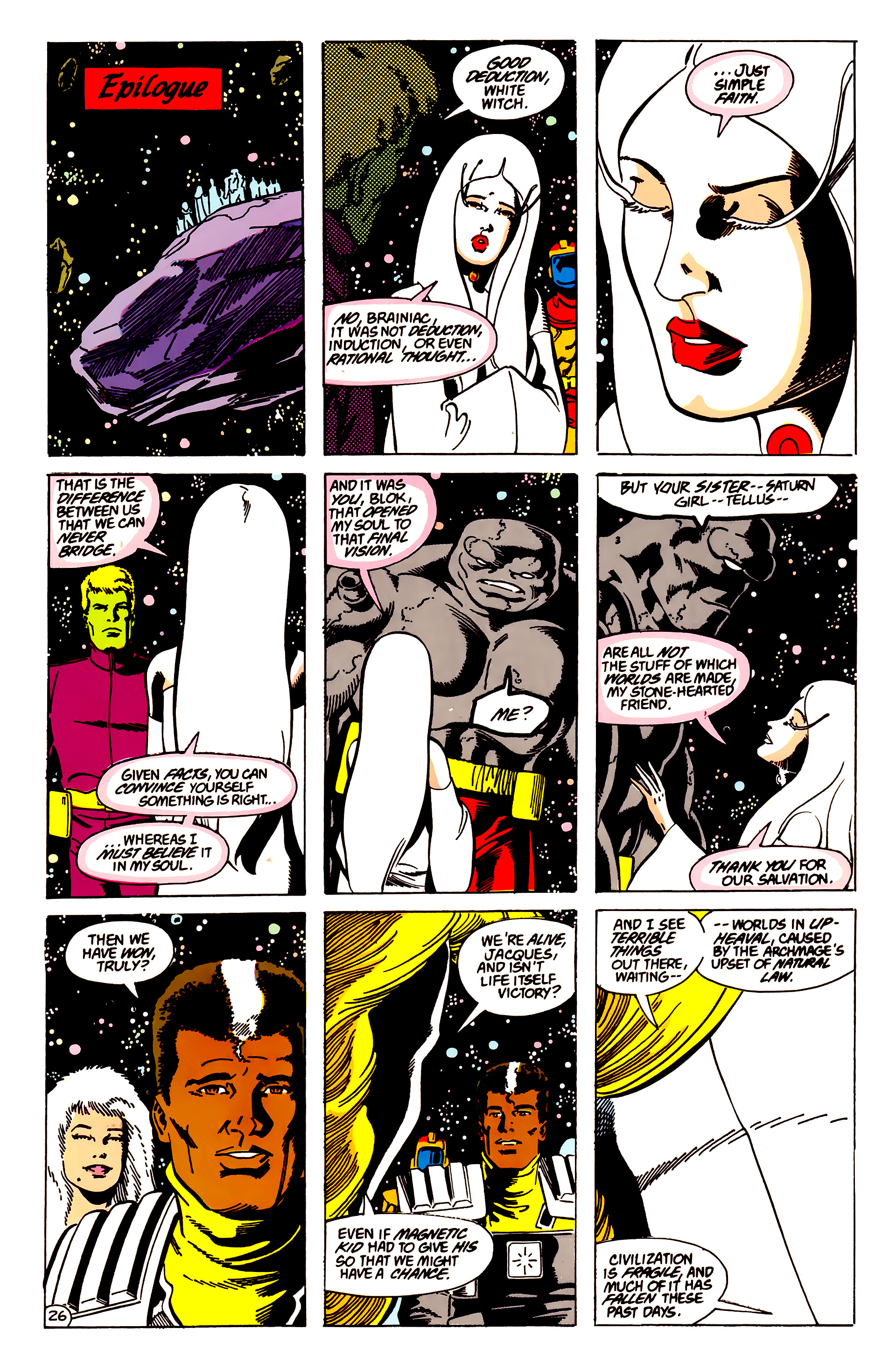 Legion of Super-Heroes (1984) 63 Page 26