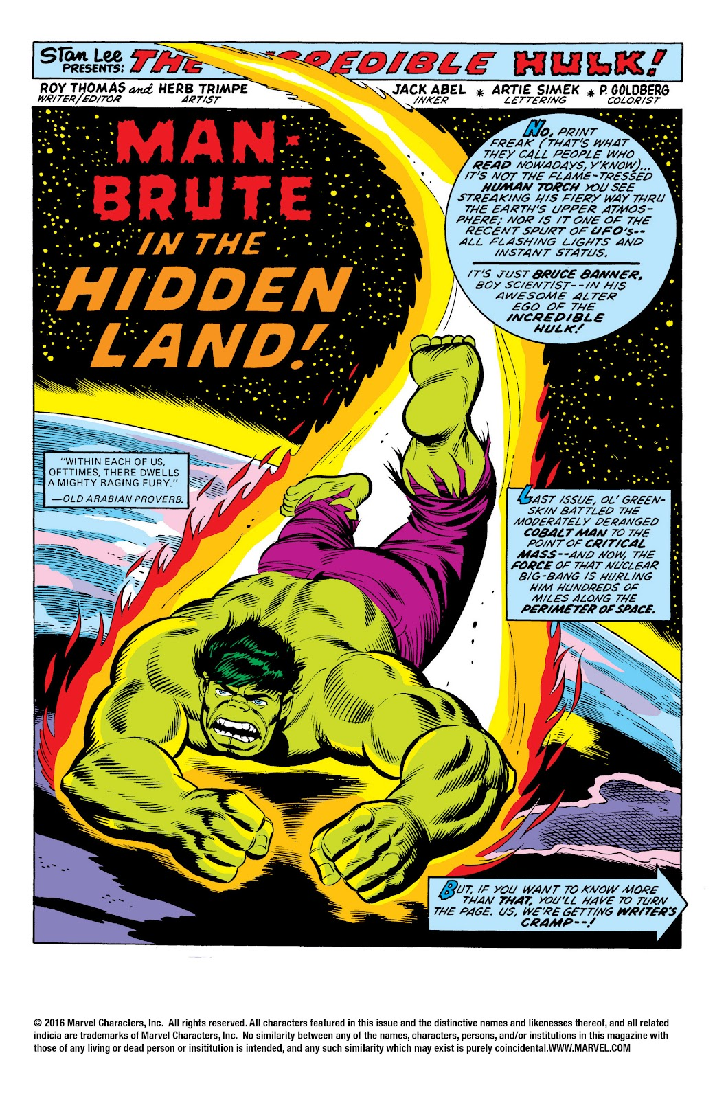 Read online Marvel Masterworks: The Incredible Hulk comic -  Issue # TPB 10 (Part 1) - 90