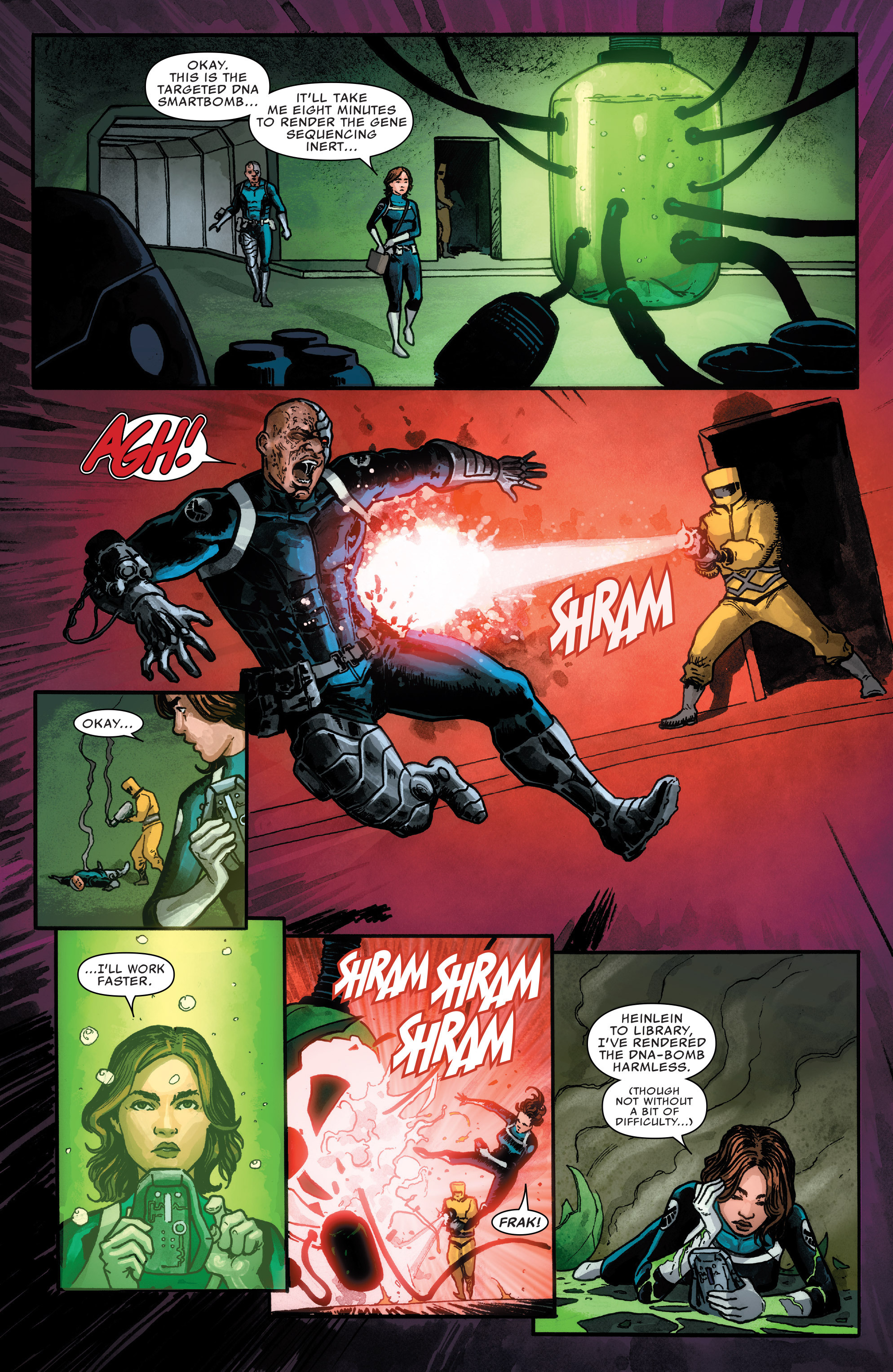 Read online Agents of S.H.I.E.L.D. comic -  Issue #1 - 10