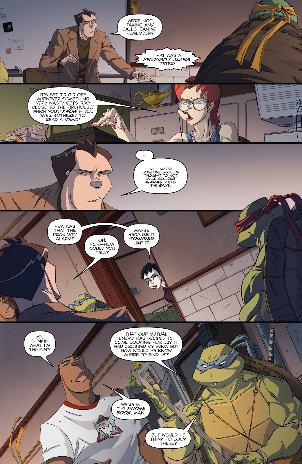 Read online Teenage Mutant Ninja Turtles: The IDW Collection comic -  Issue # TPB 5 (Part 3) - 42