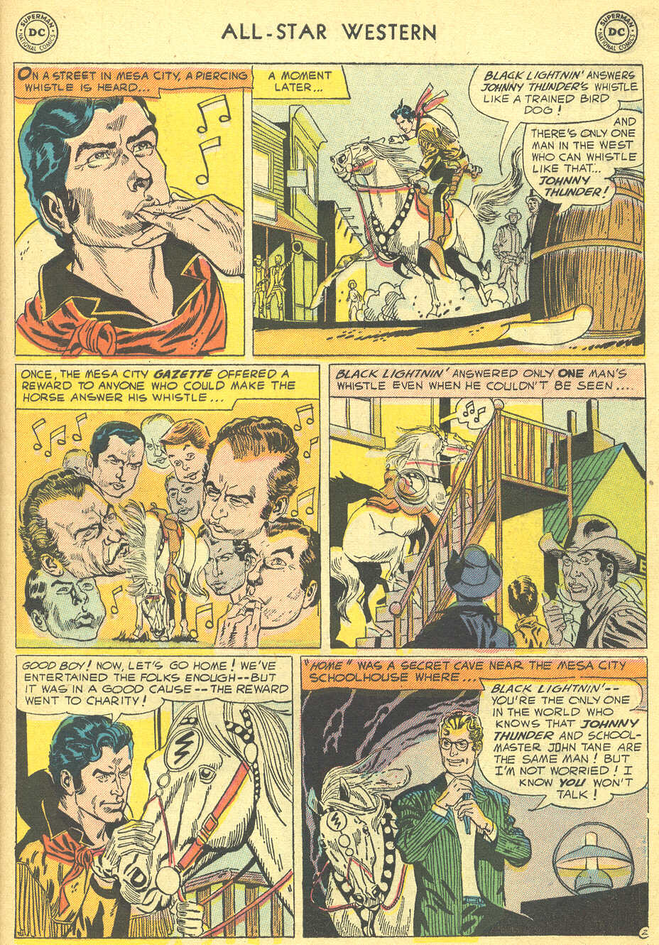 Read online All-Star Western (1951) comic -  Issue #92 - 29