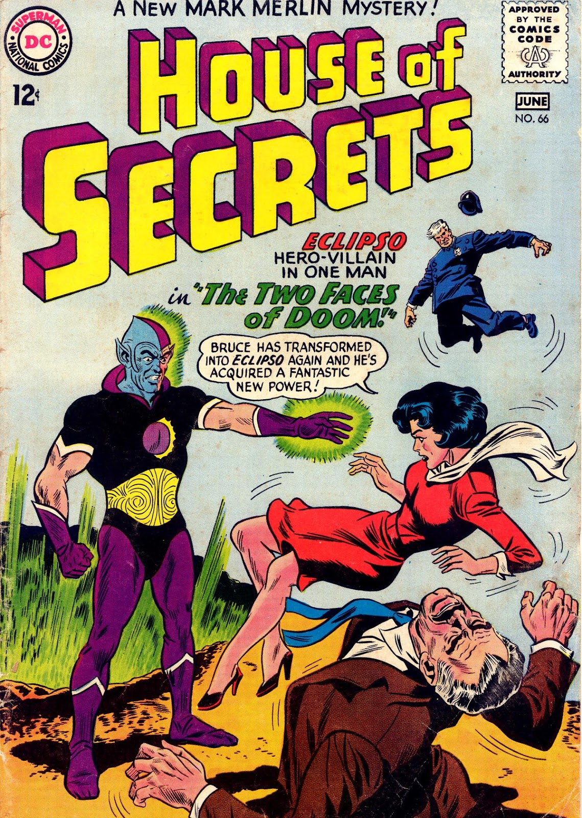 House of Secrets (1956) issue 66 - Page 1