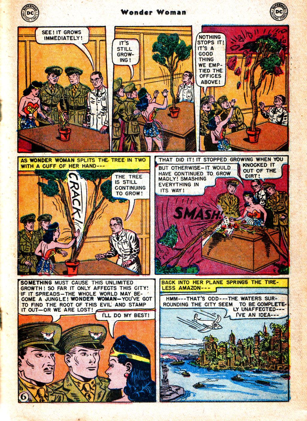 Read online Wonder Woman (1942) comic -  Issue #57 - 22