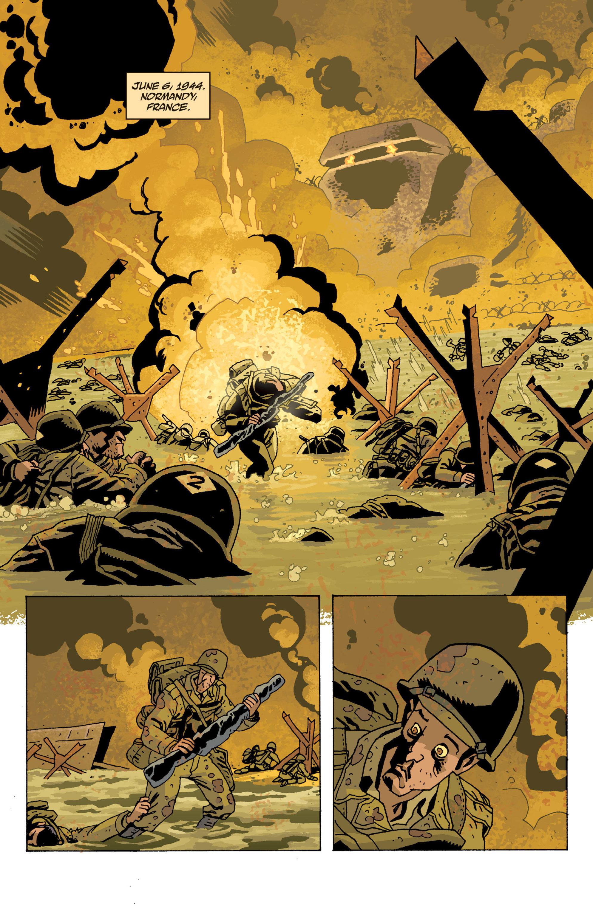 Read online B.P.R.D. (2003) comic -  Issue # TPB 13 - 25