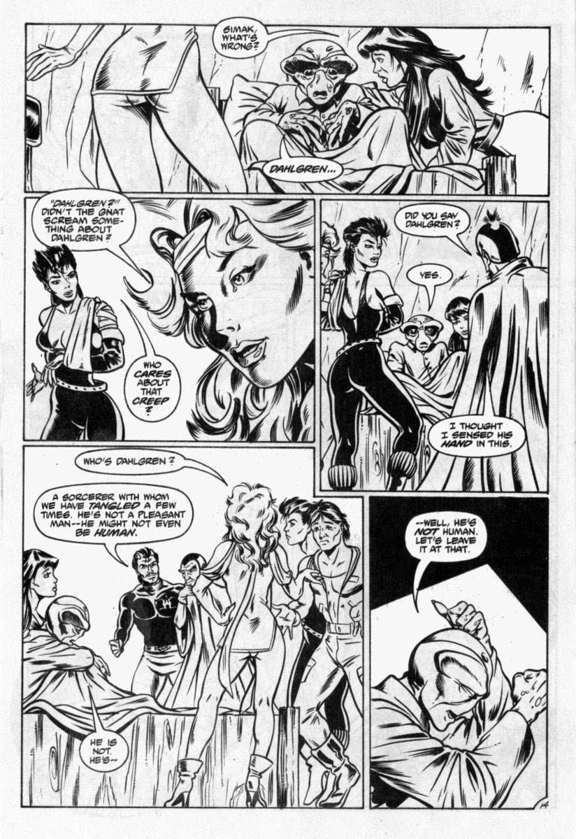 Ex-Mutants: The Shattered Earth Chronicles issue 7 - Page 15