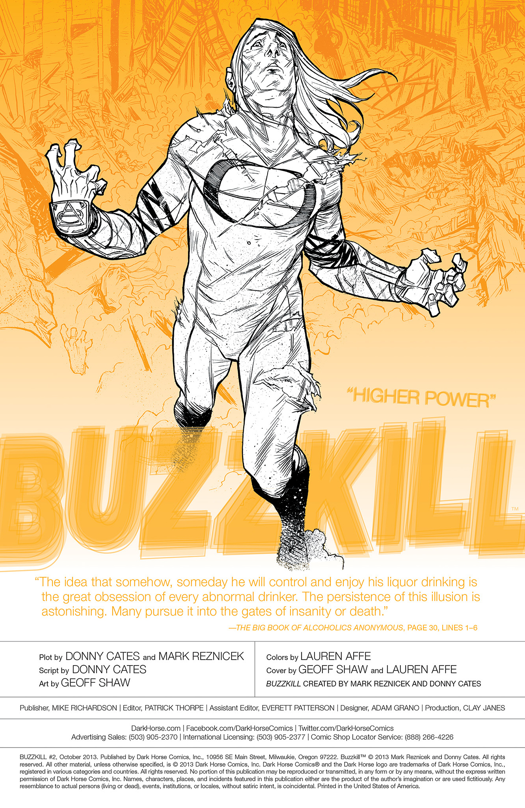Read online Buzzkill comic -  Issue #2 - 2