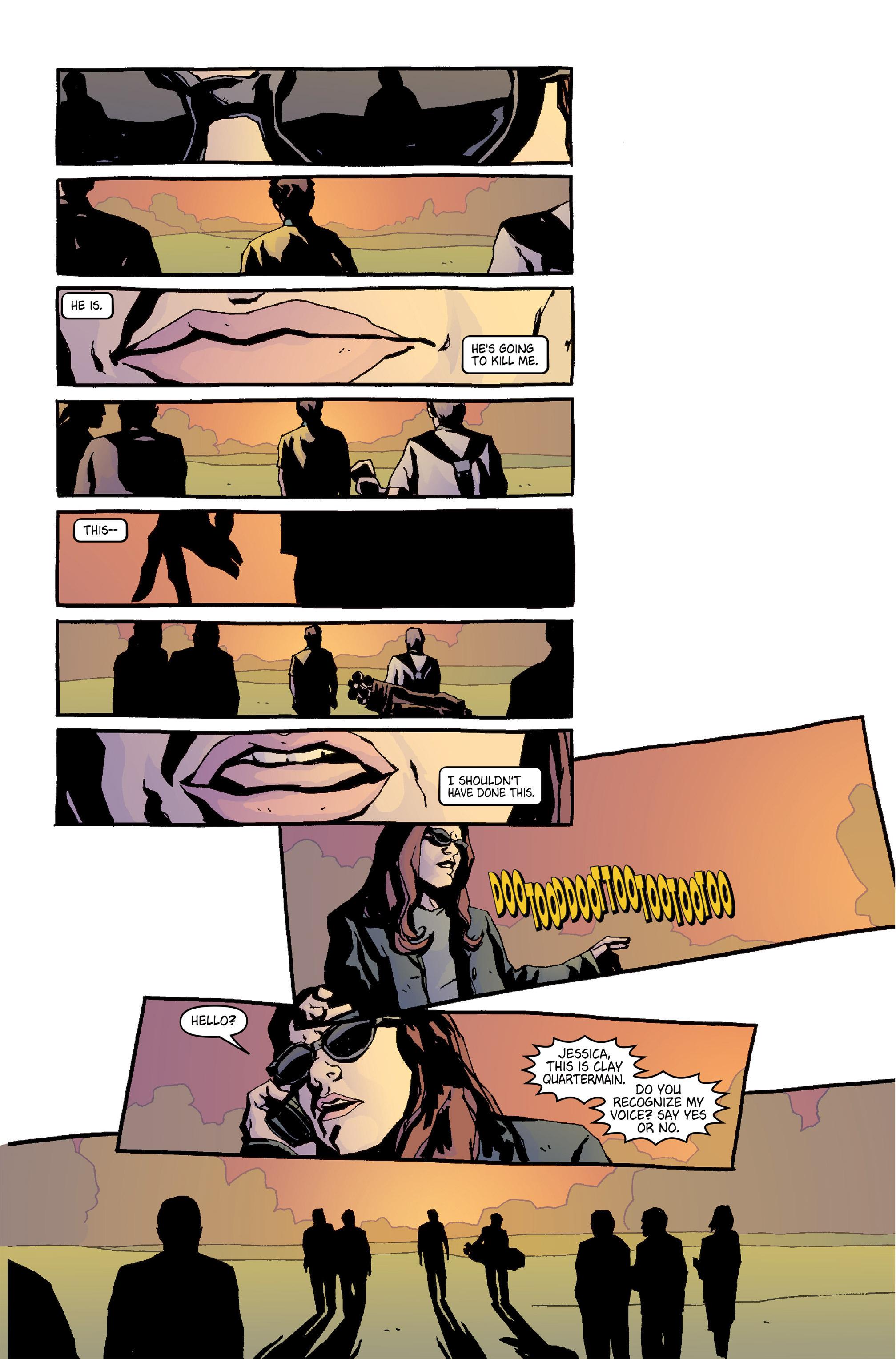 Read online Alias comic -  Issue #5 - 15