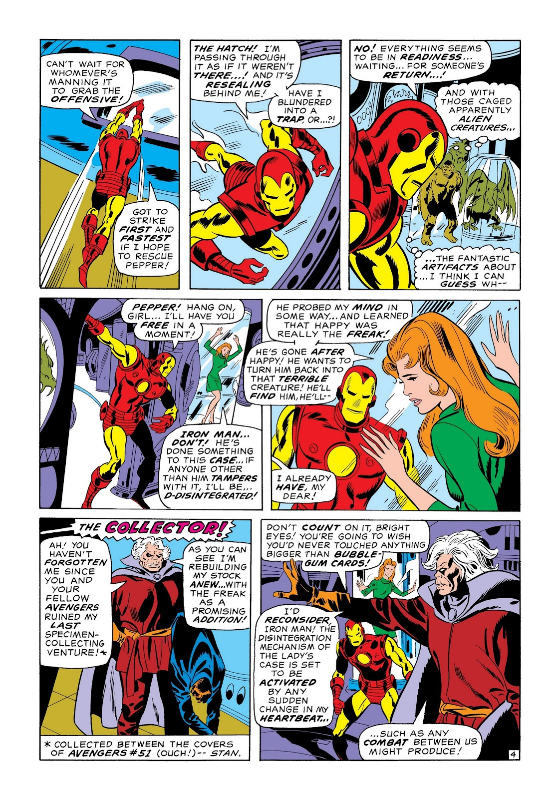 Read online Marvel Masterworks: The Invincible Iron Man comic -  Issue # TPB 7 (Part 1) - 13