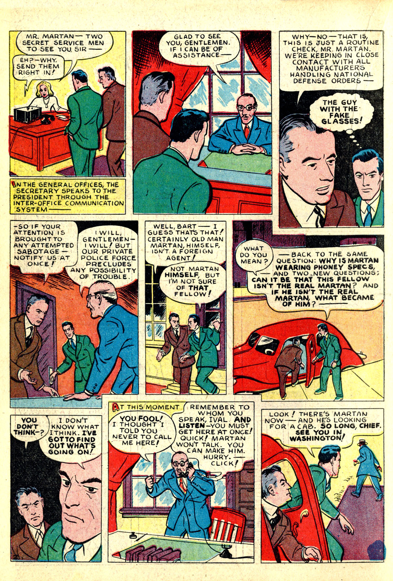 Read online Detective Comics (1937) comic -  Issue #50 - 18