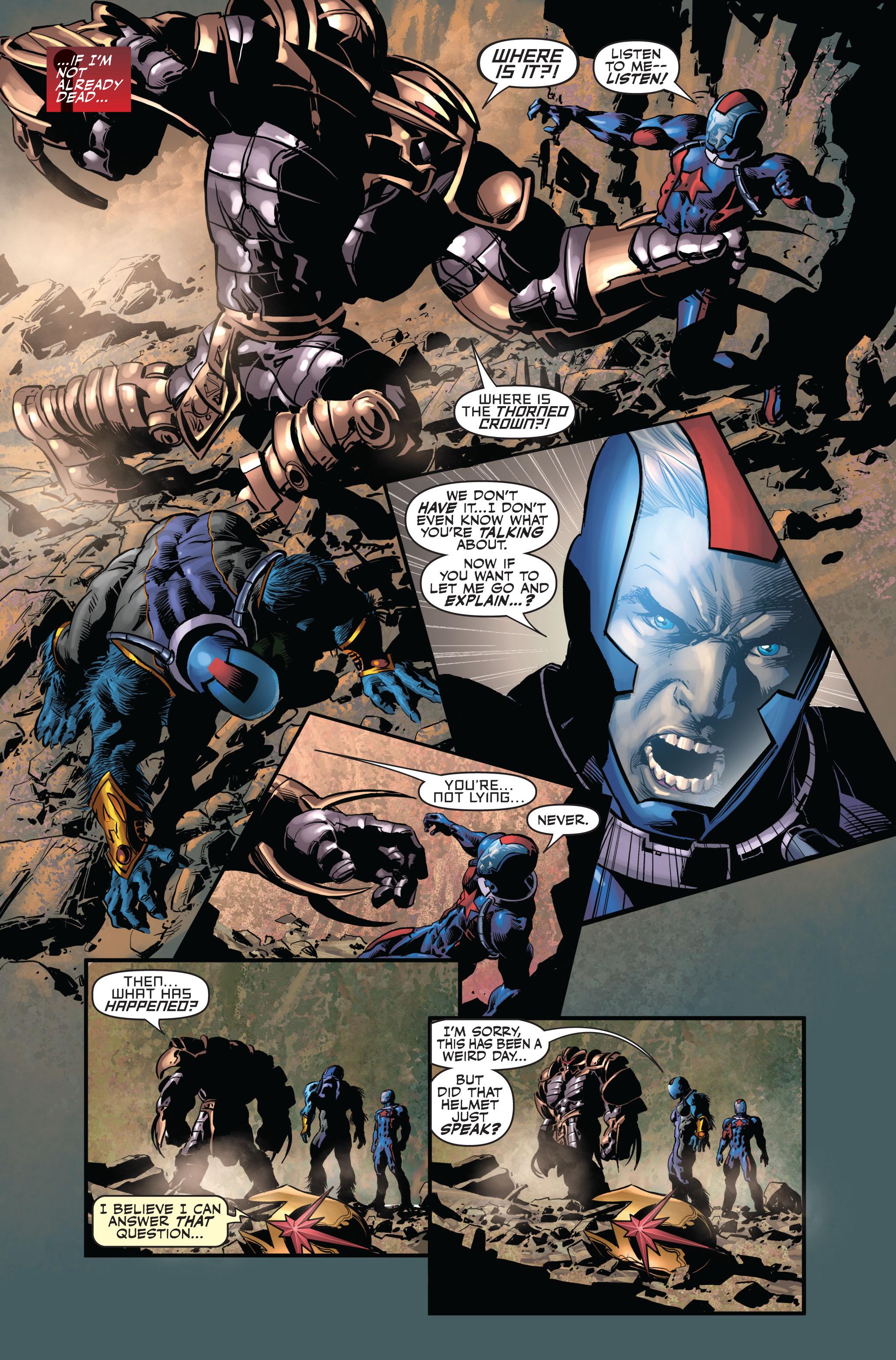 Read online Secret Avengers (2010) comic -  Issue #3 - 7