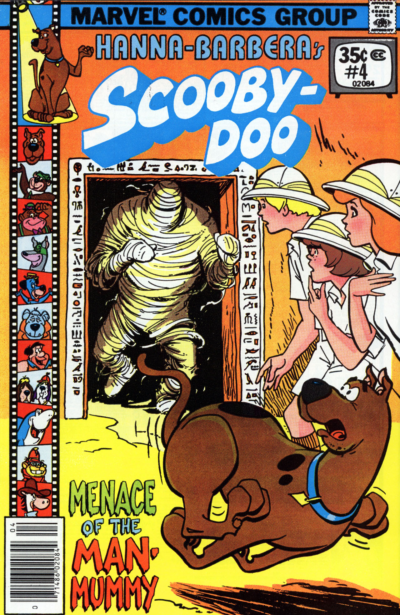 Read online Scooby-Doo (1977) comic -  Issue #4 - 1