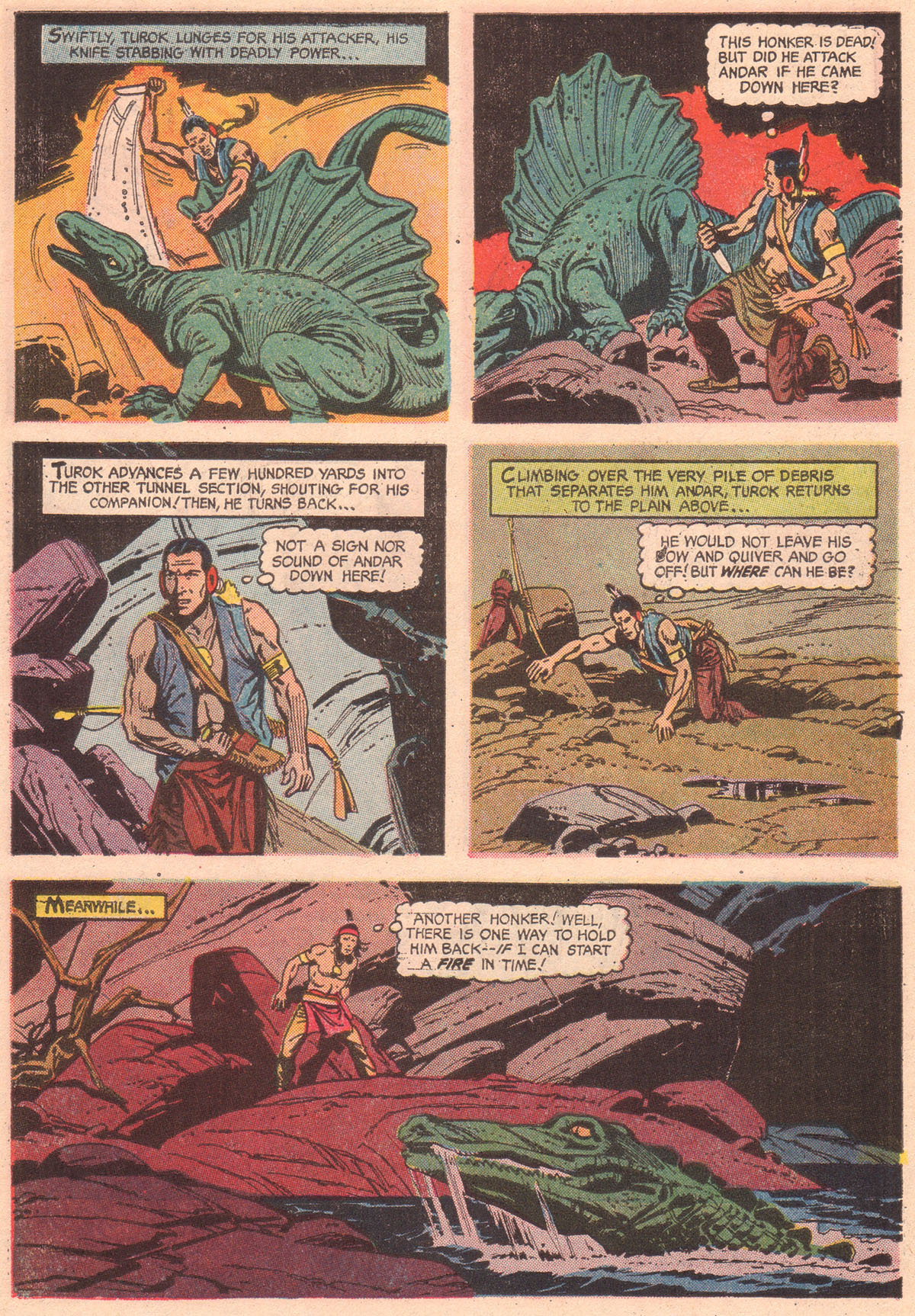 Read online Turok, Son of Stone comic -  Issue #56 - 30