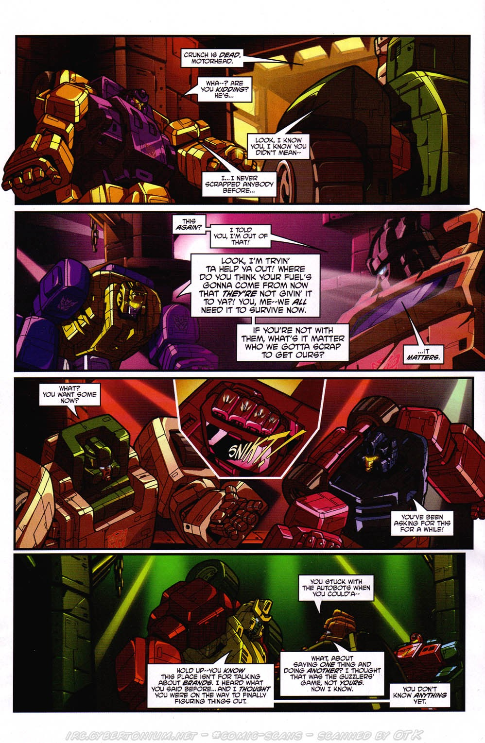 Read online Transformers: Micromasters comic -  Issue #2 - 16