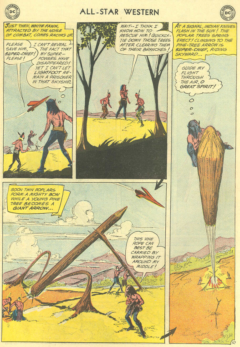 Read online All-Star Western (1951) comic -  Issue #119 - 31