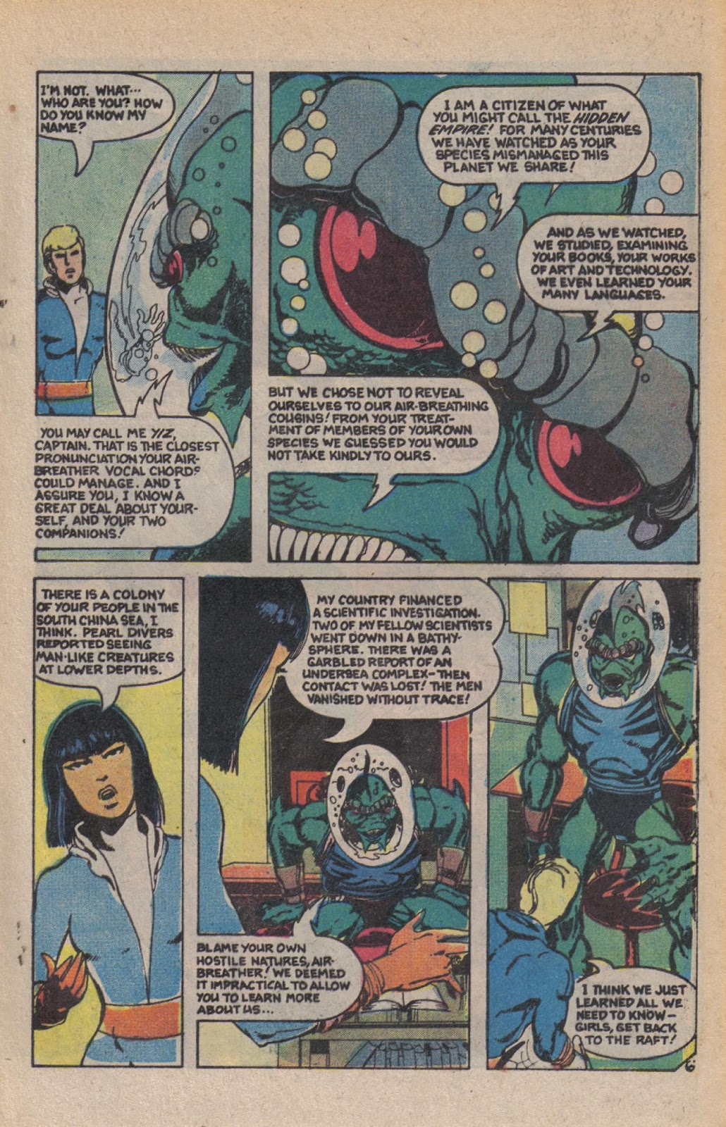 Read online Doomsday   1 (1975) comic -  Issue #10 - 9