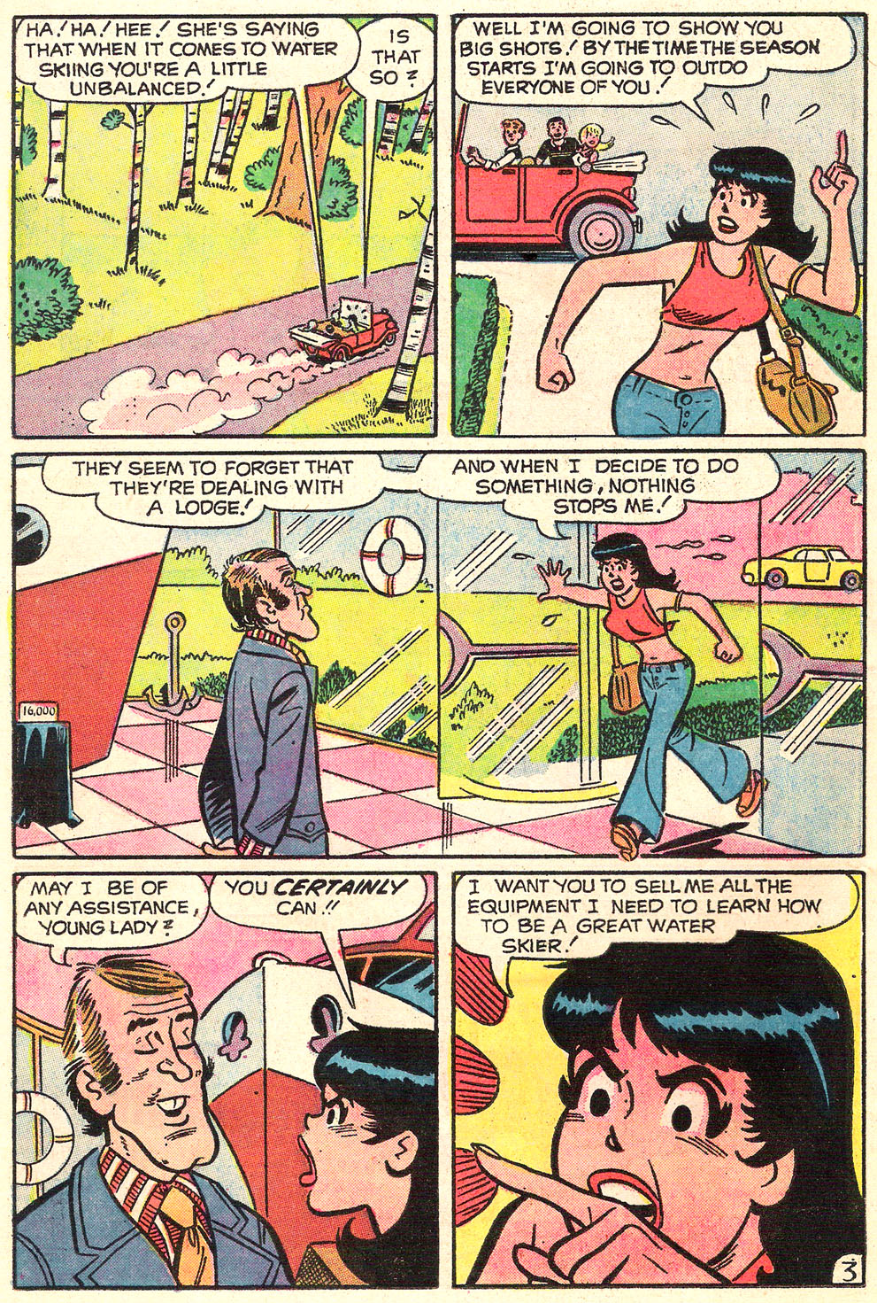 Read online Archie's Girls Betty and Veronica comic -  Issue #214 - 21