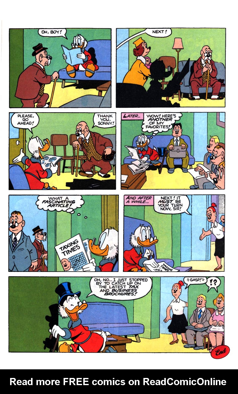 Read online Uncle Scrooge (1953) comic -  Issue #249 - 27