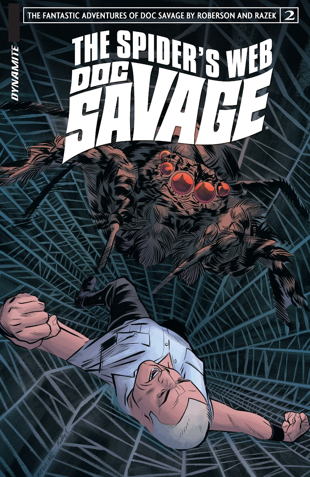 Doc Savage: The Spiders Web issue 2 - Page 1