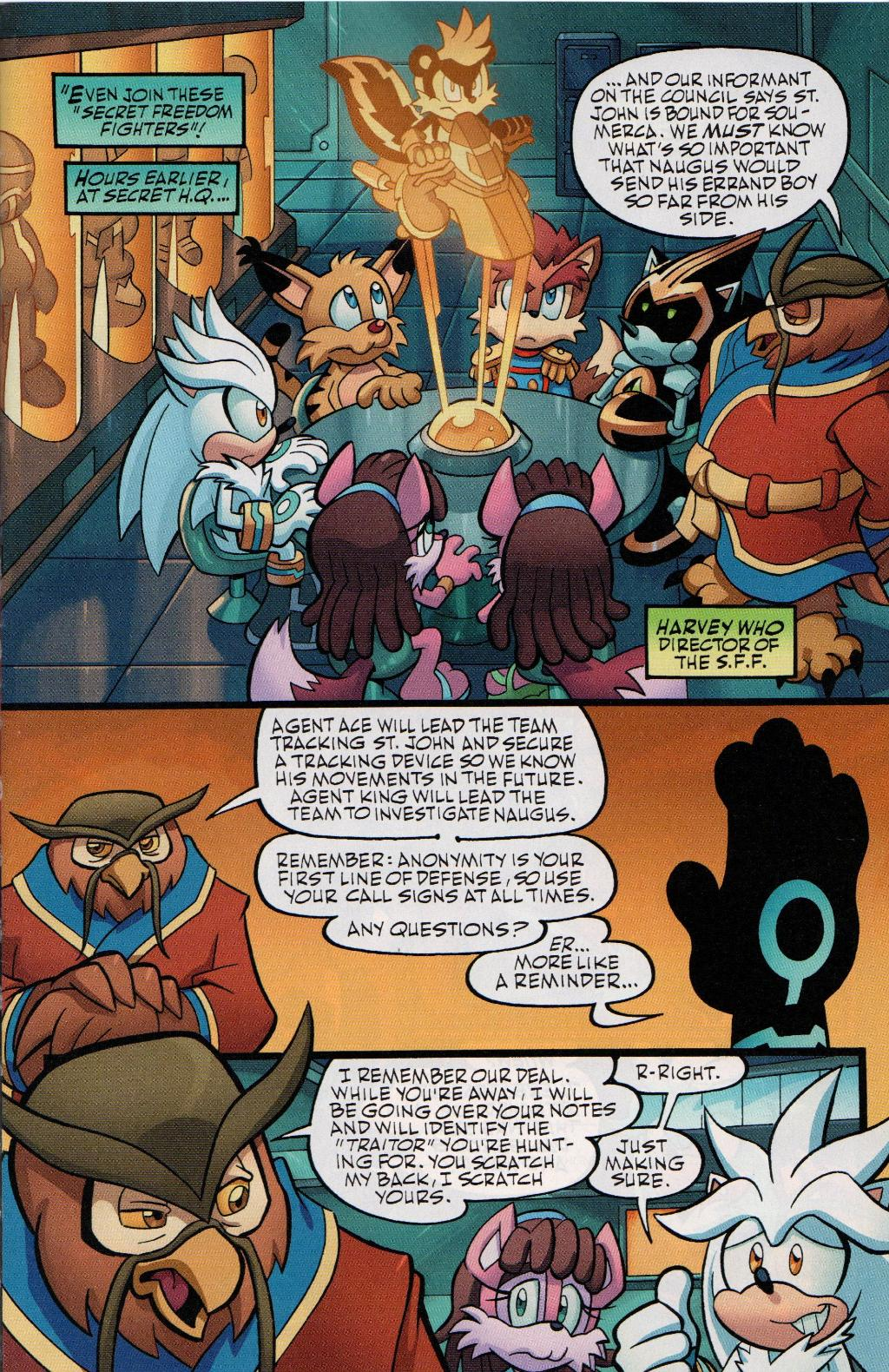 Read online Sonic Universe comic -  Issue #41 - 5
