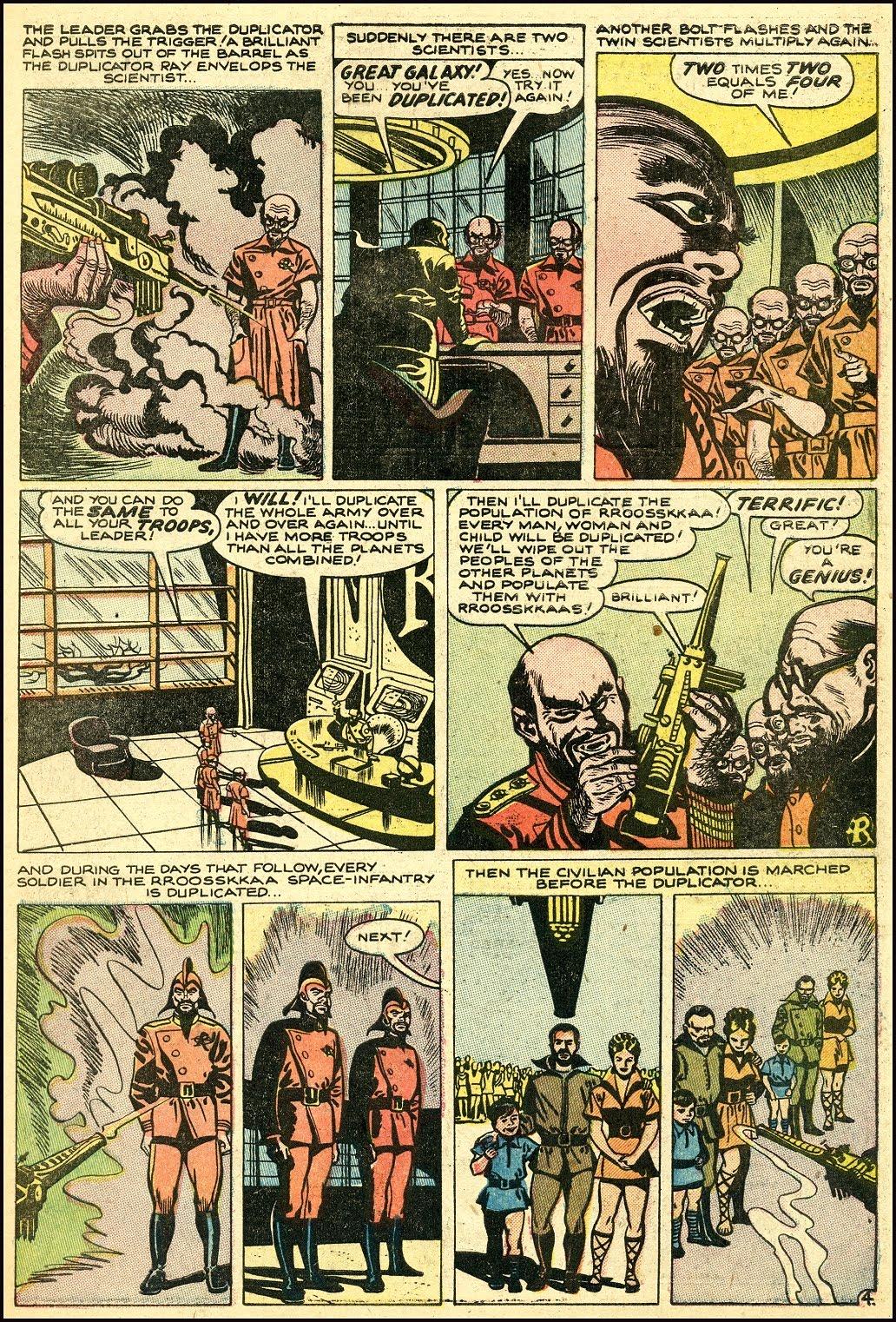 Read online Adventures into Weird Worlds comic -  Issue #25 - 25