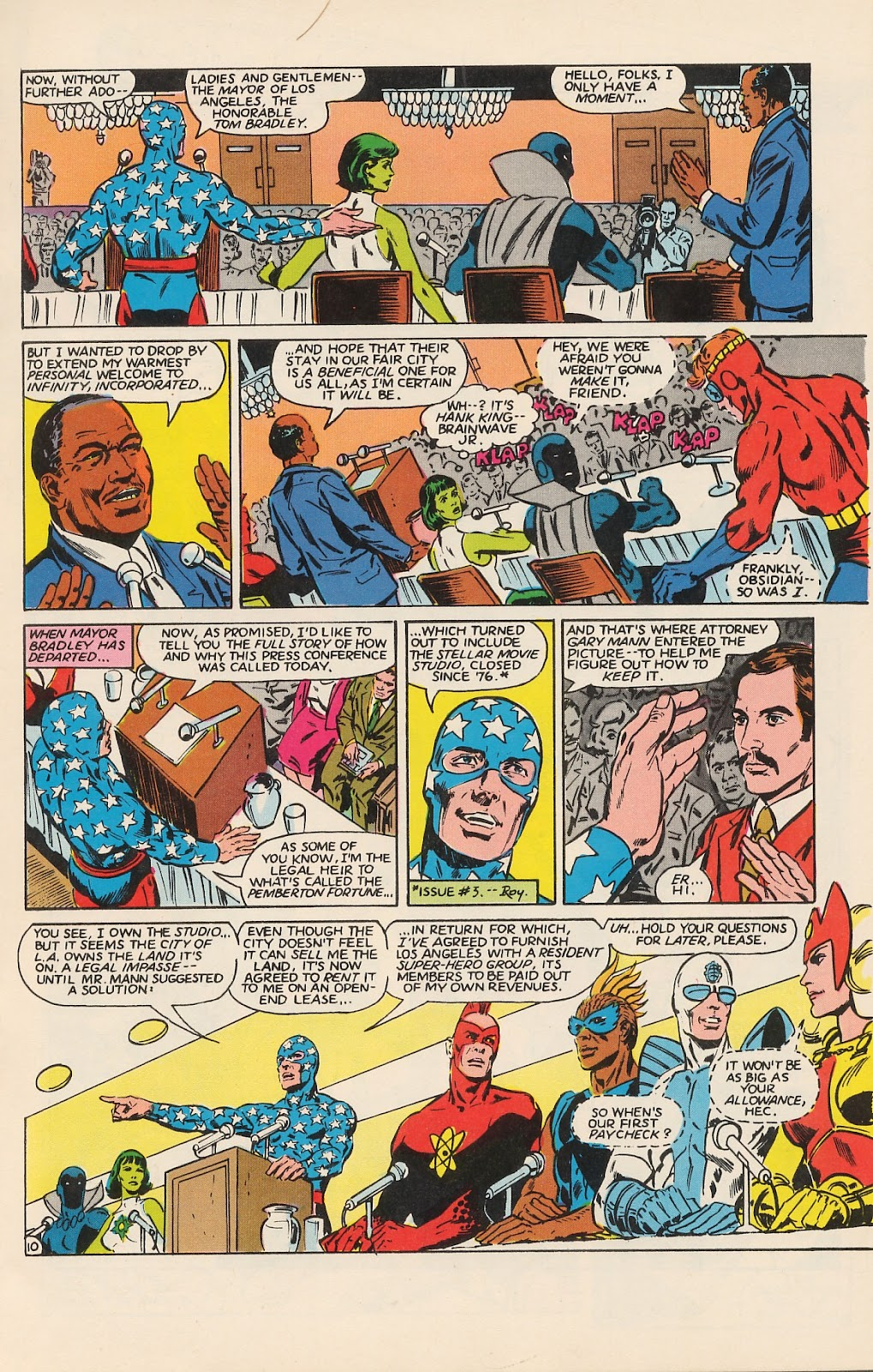Infinity Inc. (1984) issue 12 - Page 14