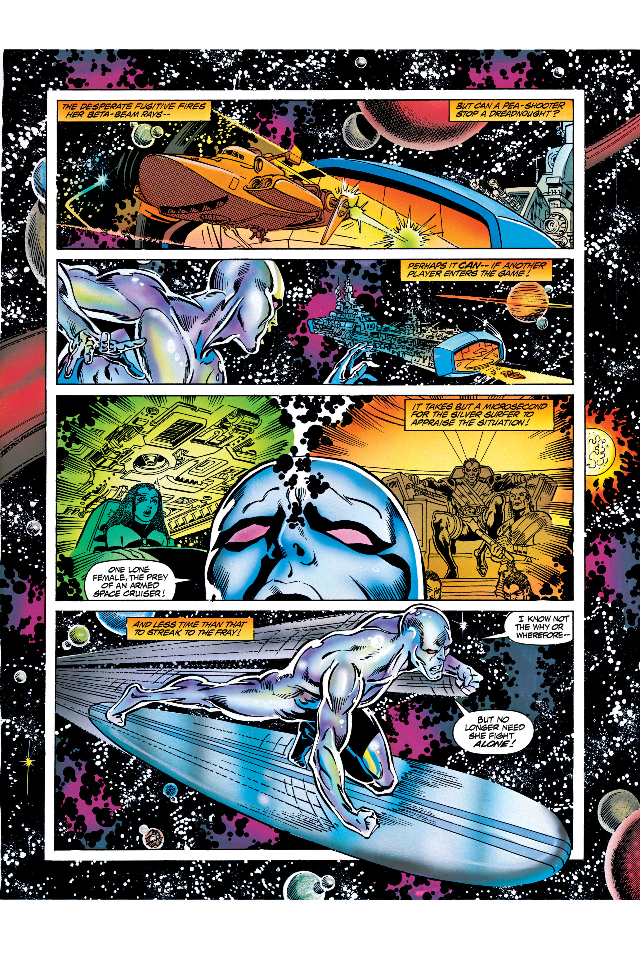 Read online Silver Surfer: Parable comic -  Issue # TPB - 94