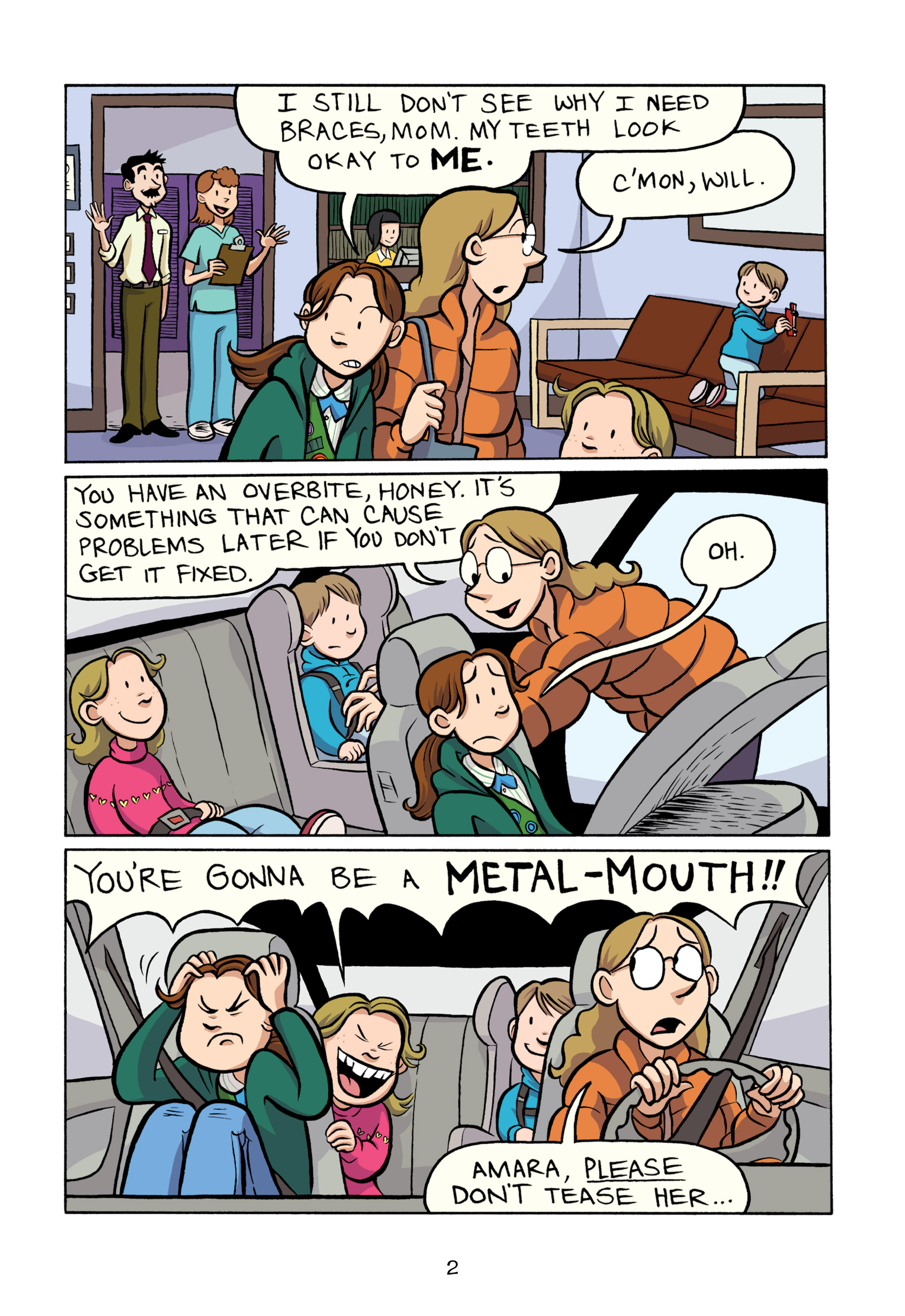 Read online Smile comic -  Issue # TPB - 8