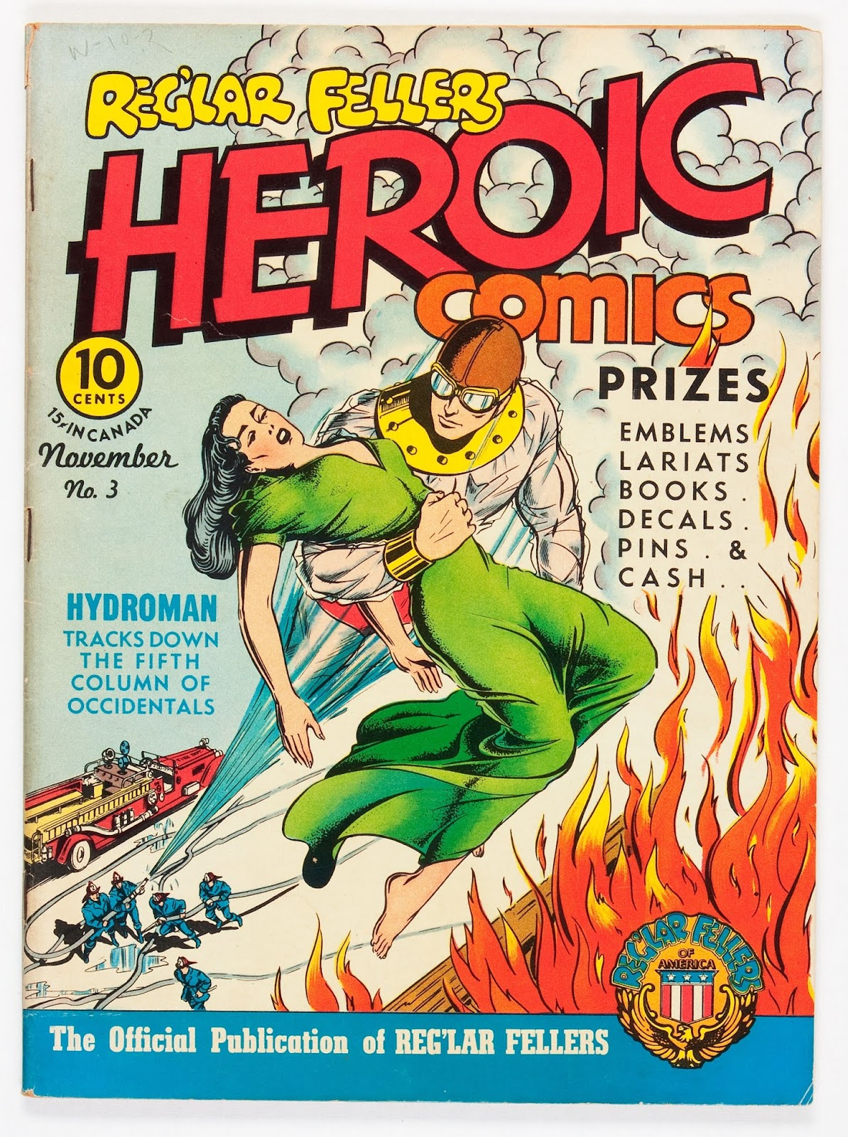 Reg'lar Fellers Heroic Comics issue 3 - Page 1