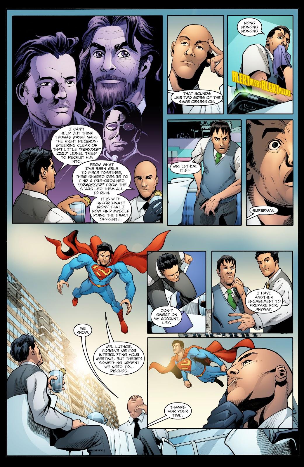 Read online Smallville Season 11 [II] comic -  Issue # TPB 2 - 31