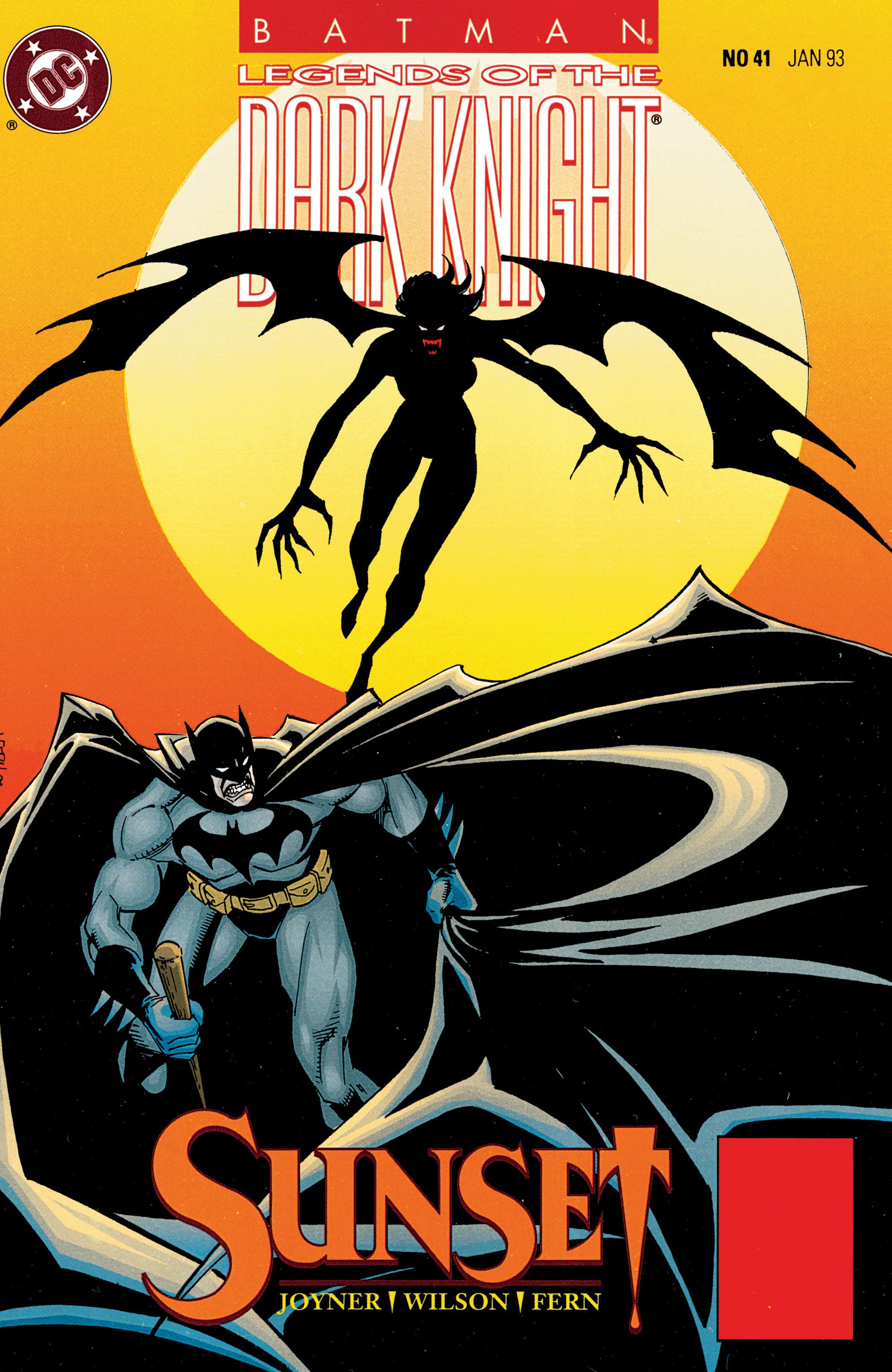 Batman: Legends of the Dark Knight 41 Page 1