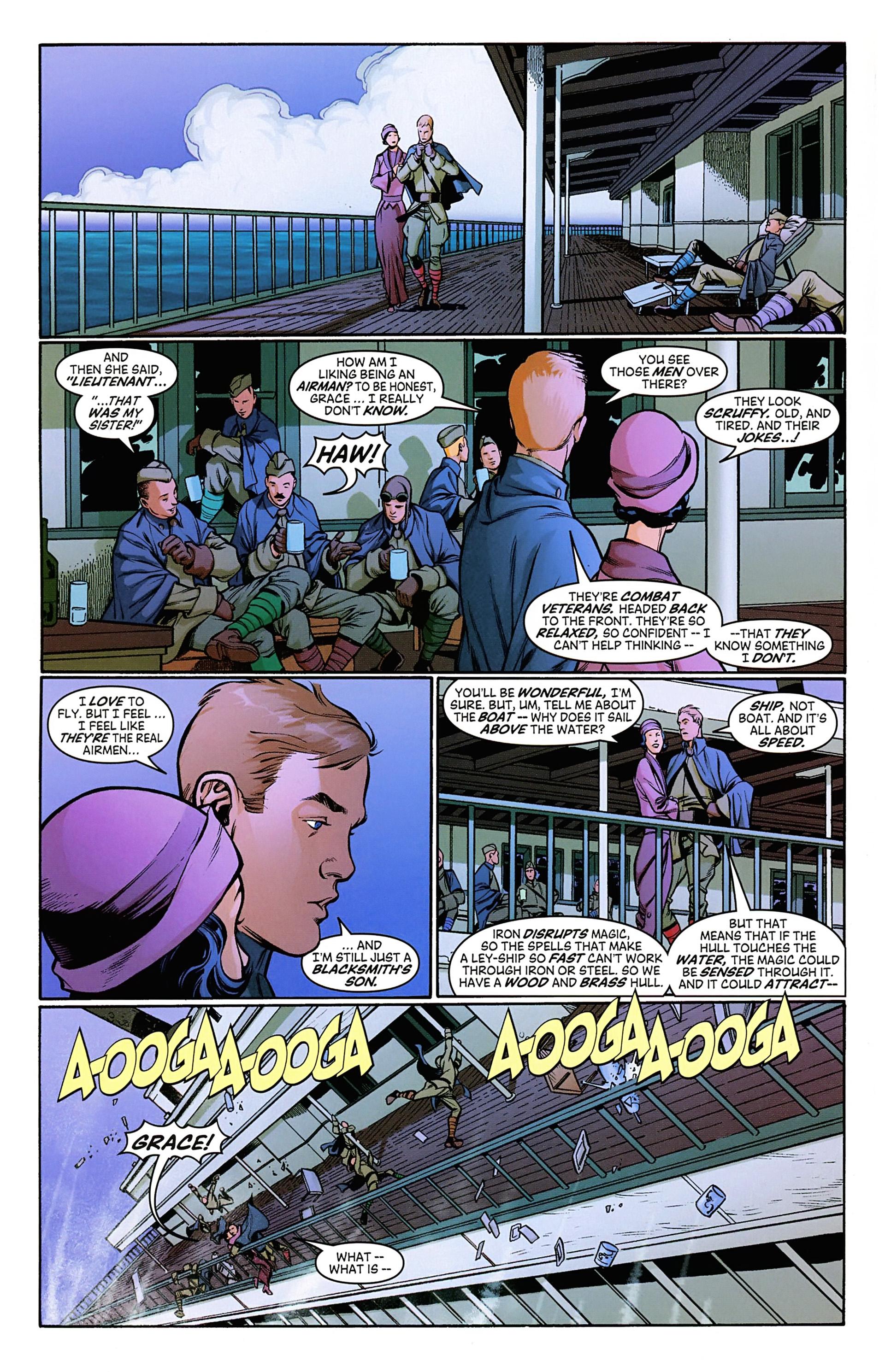 Read online Arrowsmith comic -  Issue #3 - 7
