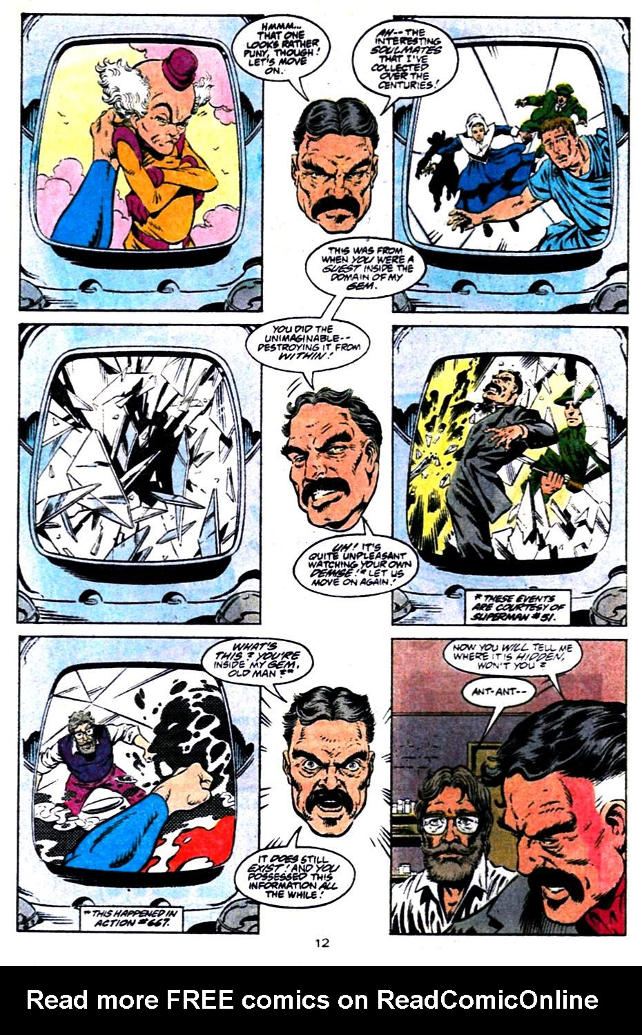 Read online Adventures of Superman (1987) comic -  Issue #484 - 13