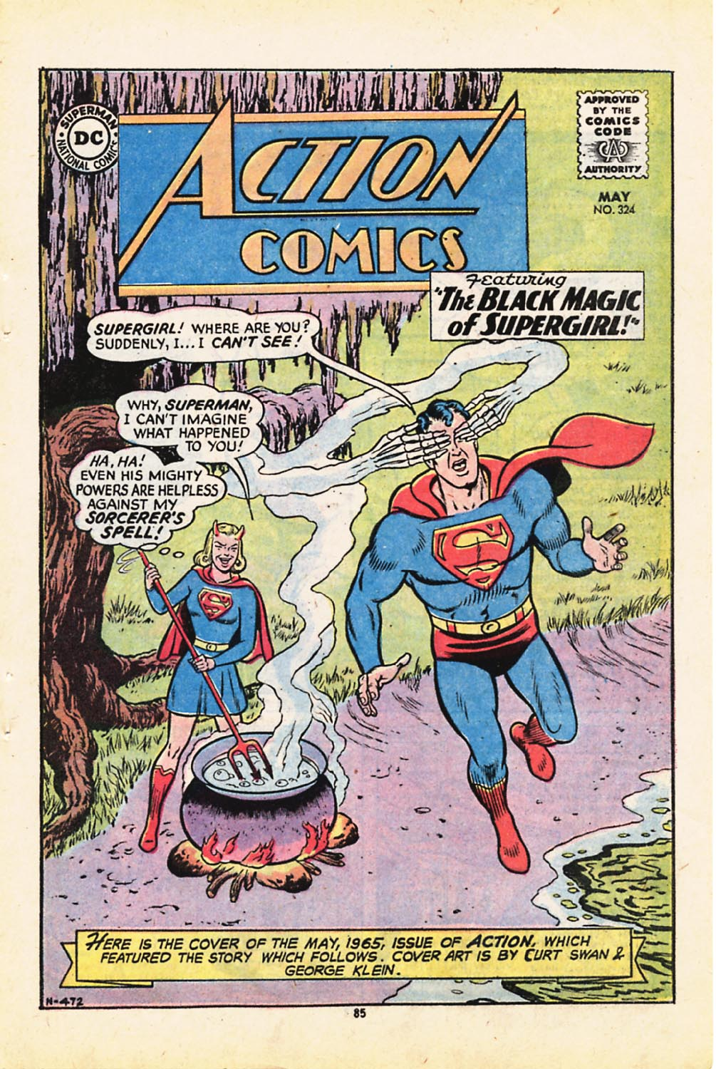 Read online Adventure Comics (1938) comic -  Issue #416 - 85