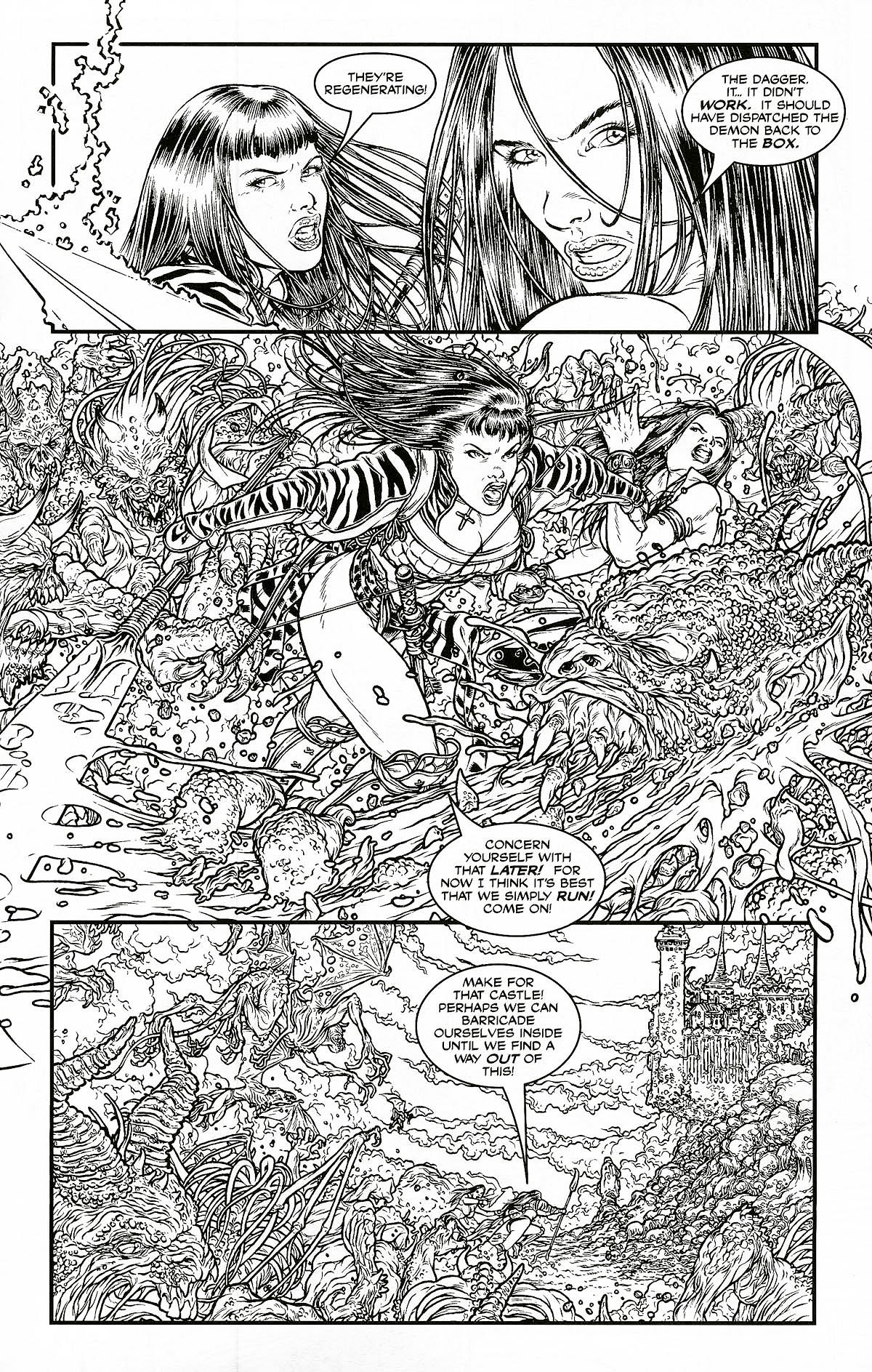 Read online Shi: Pandora's Box comic -  Issue #1 - 17