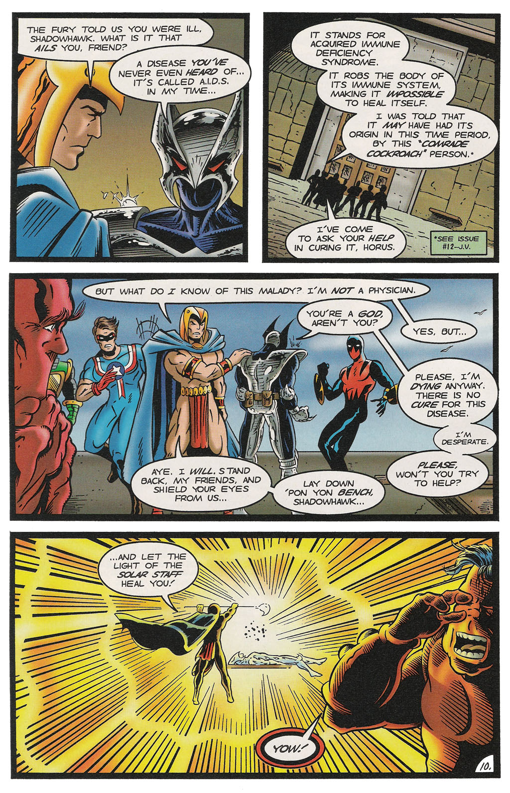 Read online ShadowHawk comic -  Issue #14 - 11