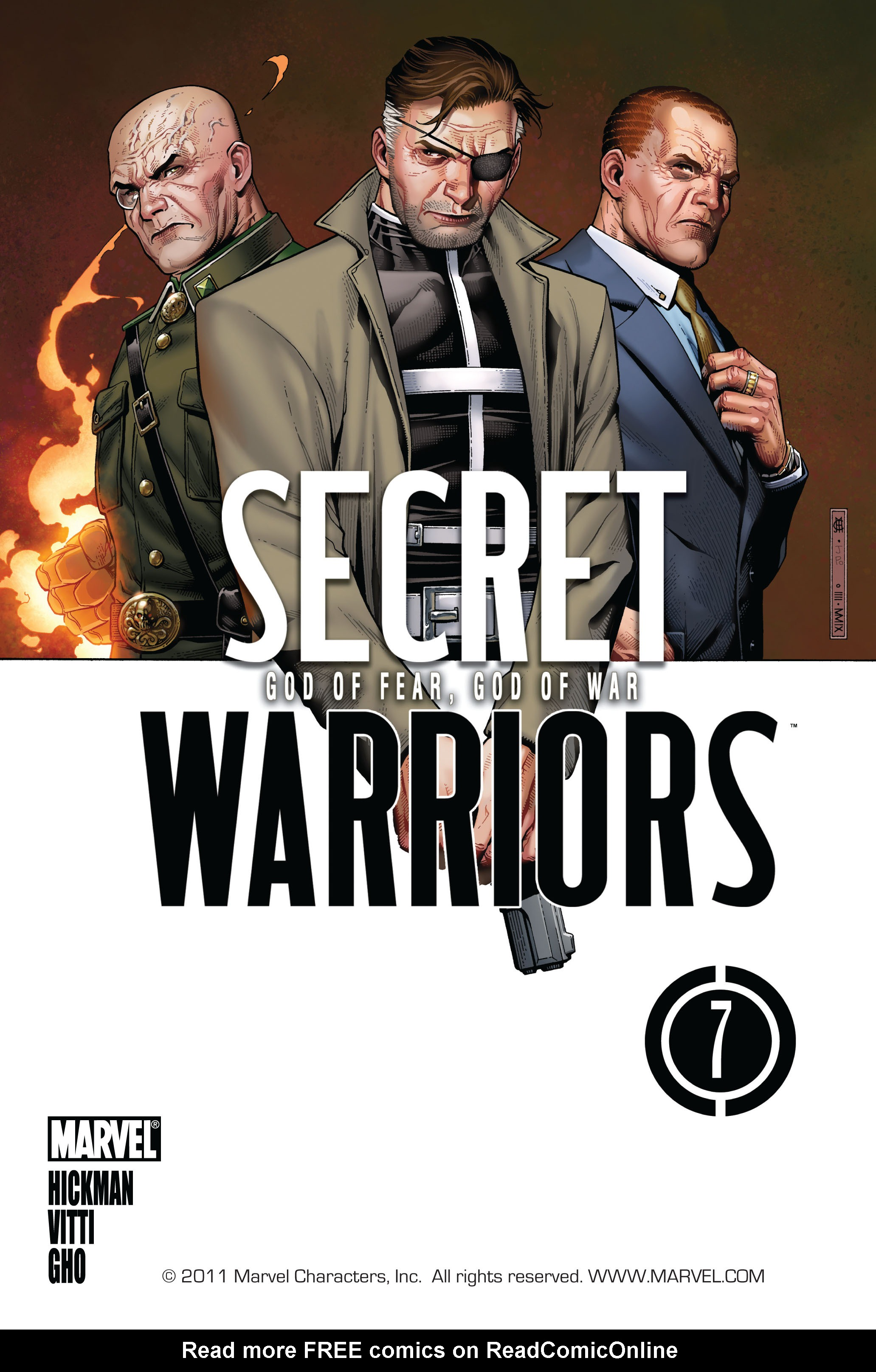 Read online Secret Warriors comic -  Issue #7 - 2