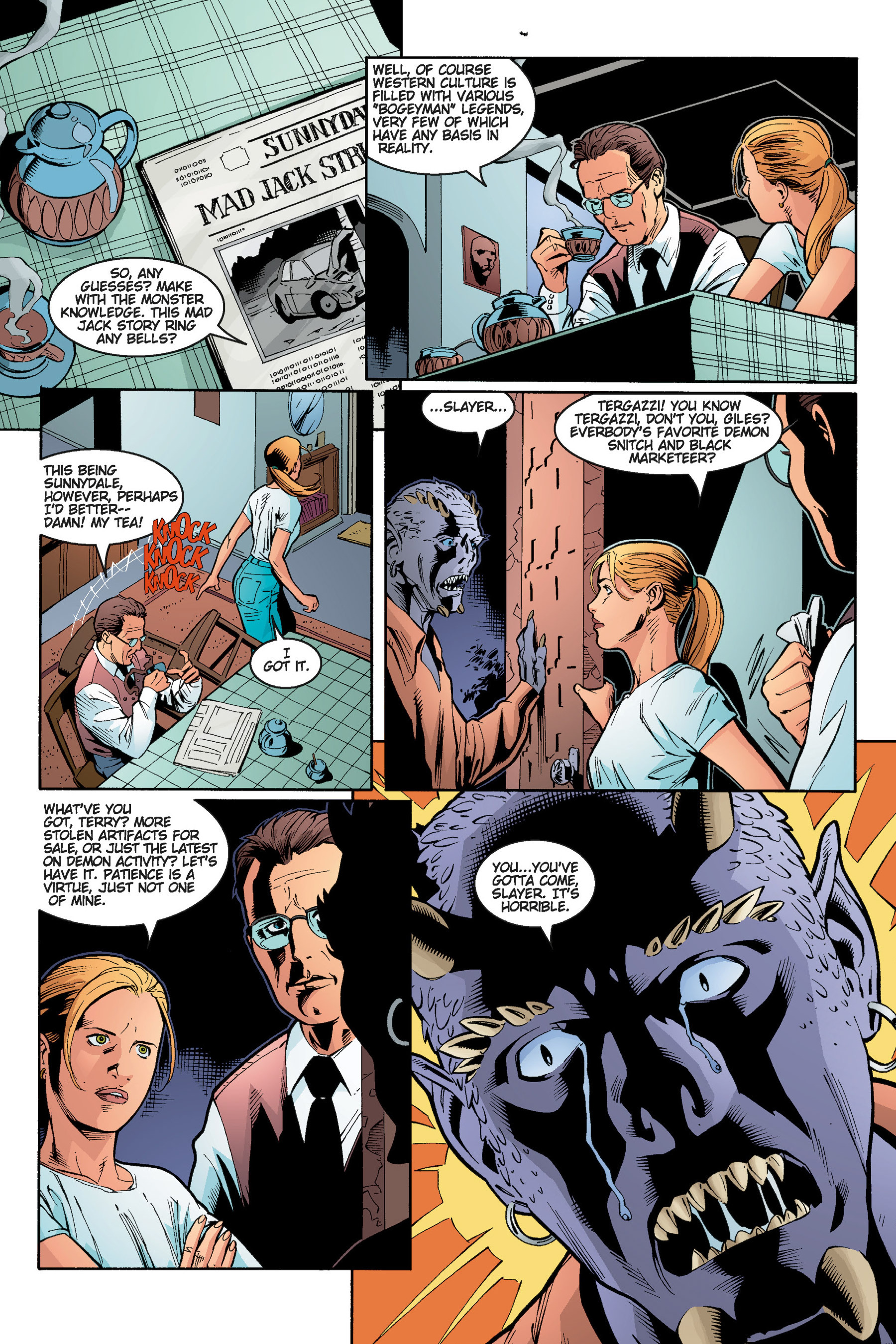 Read online Buffy the Vampire Slayer: Omnibus comic -  Issue # TPB 5 - 127