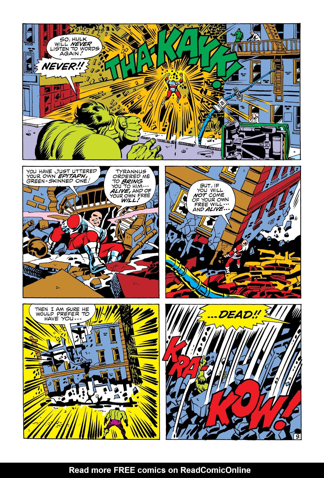 Read online Marvel Masterworks: The Incredible Hulk comic -  Issue # TPB 6 (Part 2) - 23