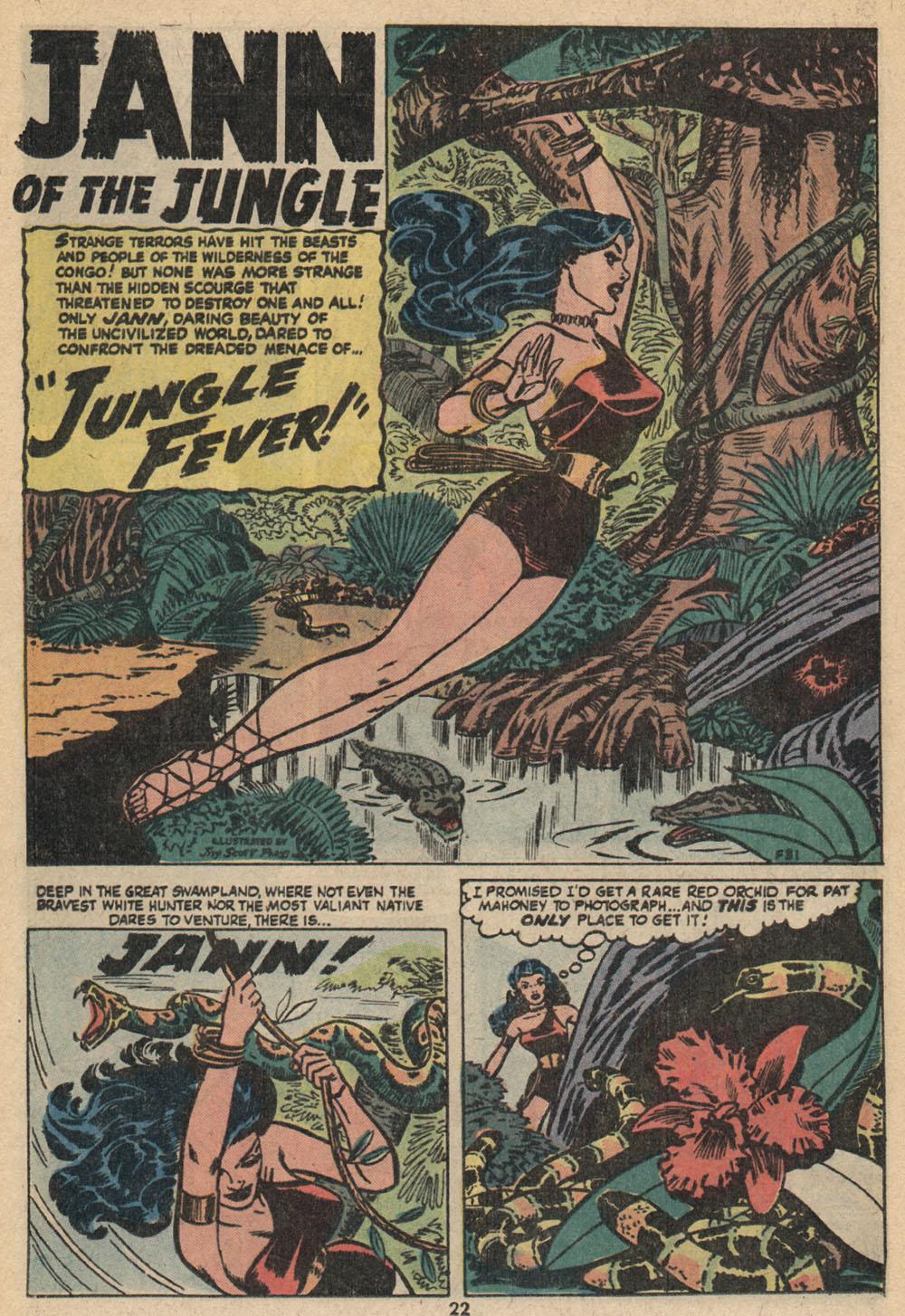 Read online Astonishing Tales (1970) comic -  Issue #14 - 16