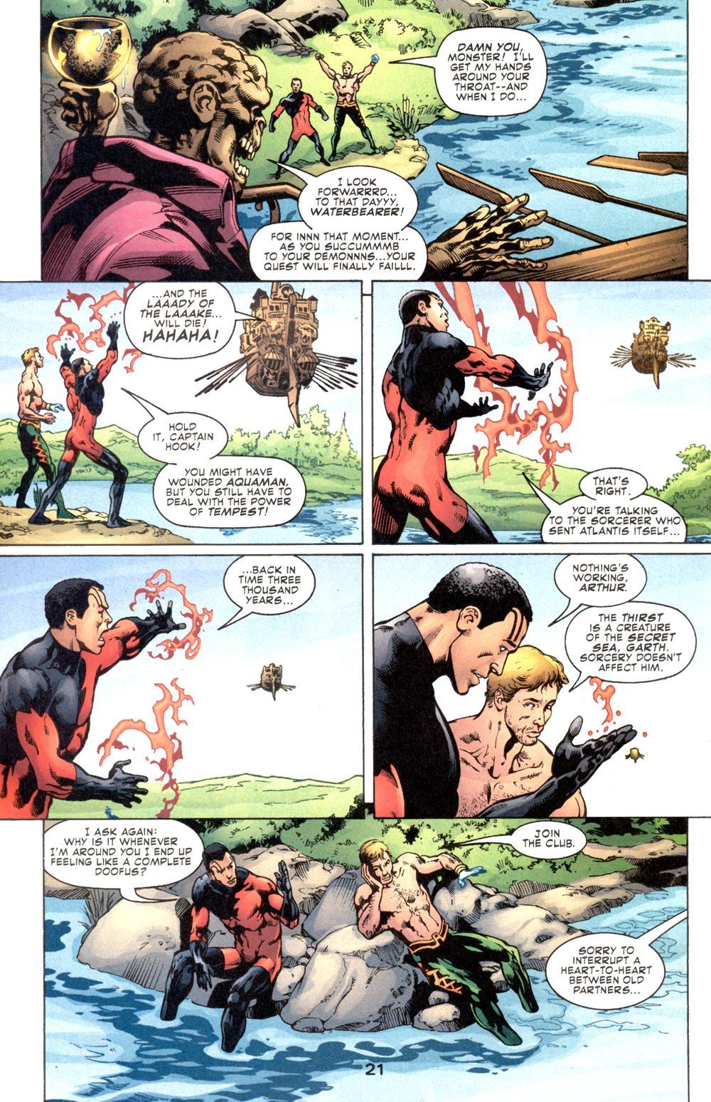 Read online Aquaman (2003) comic -  Issue #6 - 23