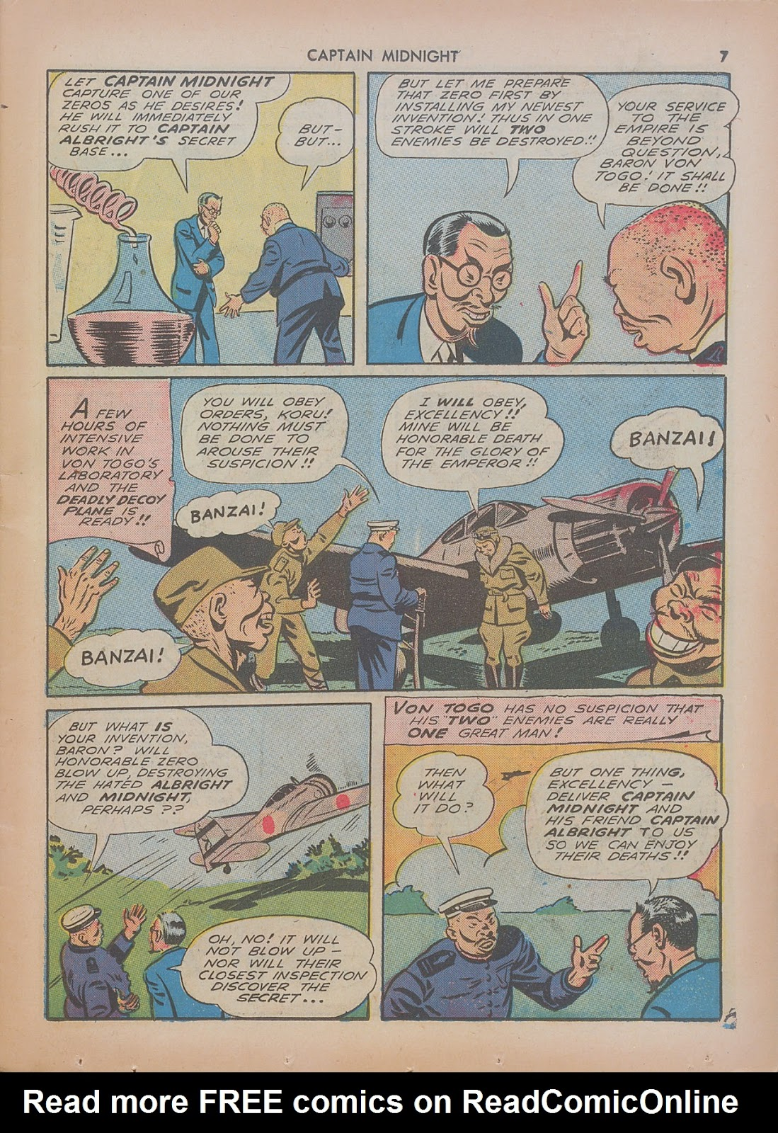 Captain Midnight (1942) issue 7 - Page 7