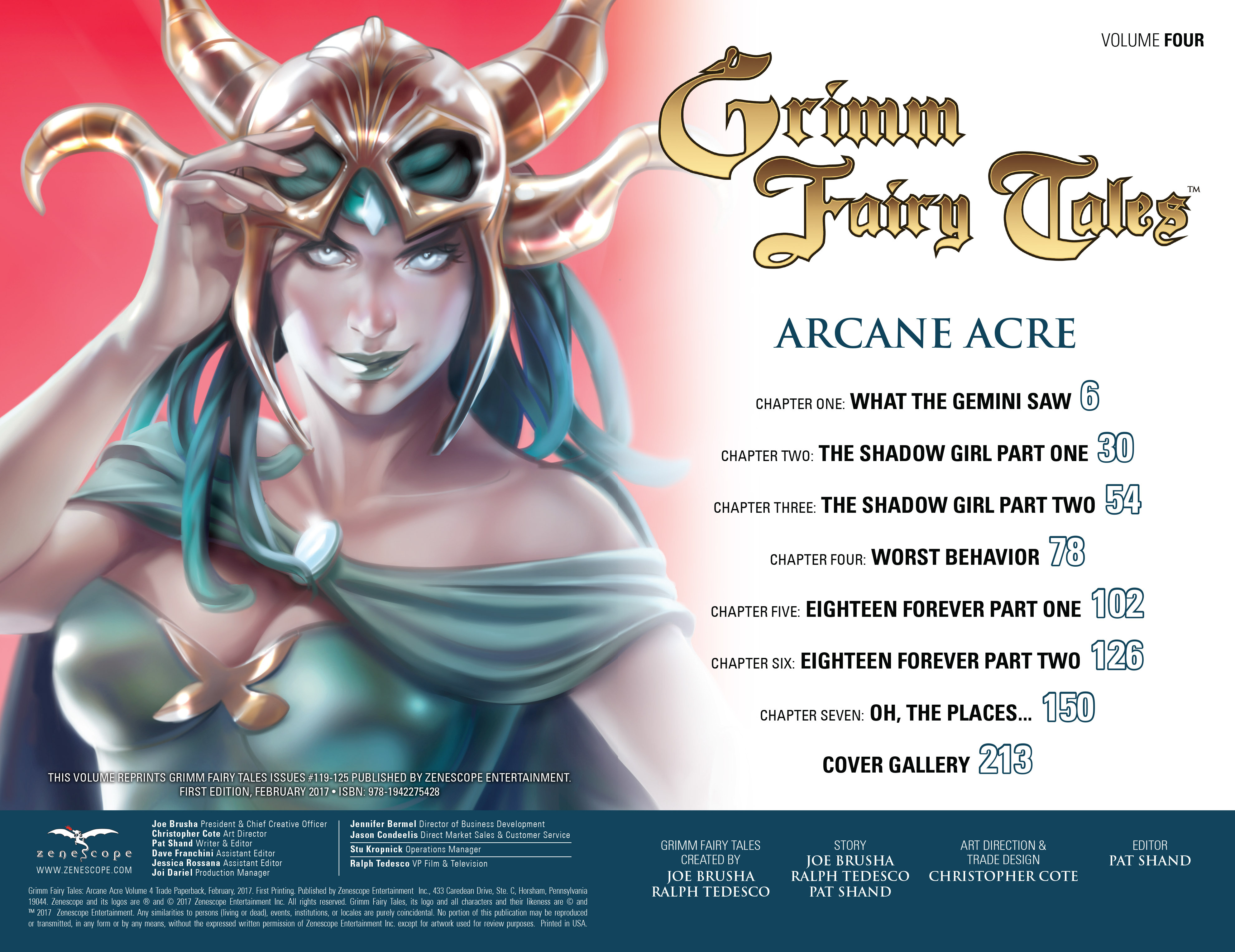 Read online Grimm Fairy Tales: Arcane Acre comic -  Issue # TPB 4 - 3