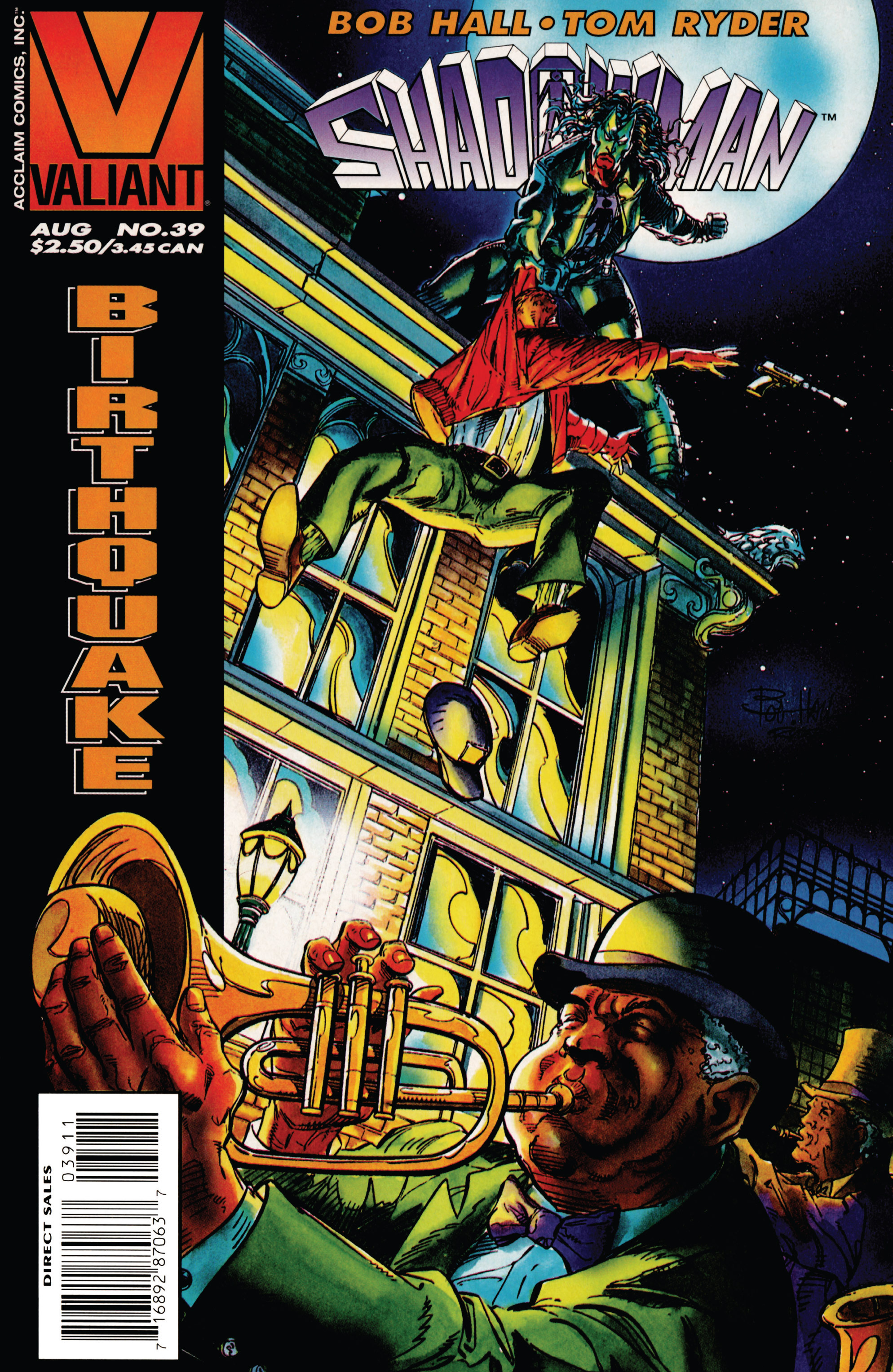 Read online Shadowman (1992) comic -  Issue #39 - 1