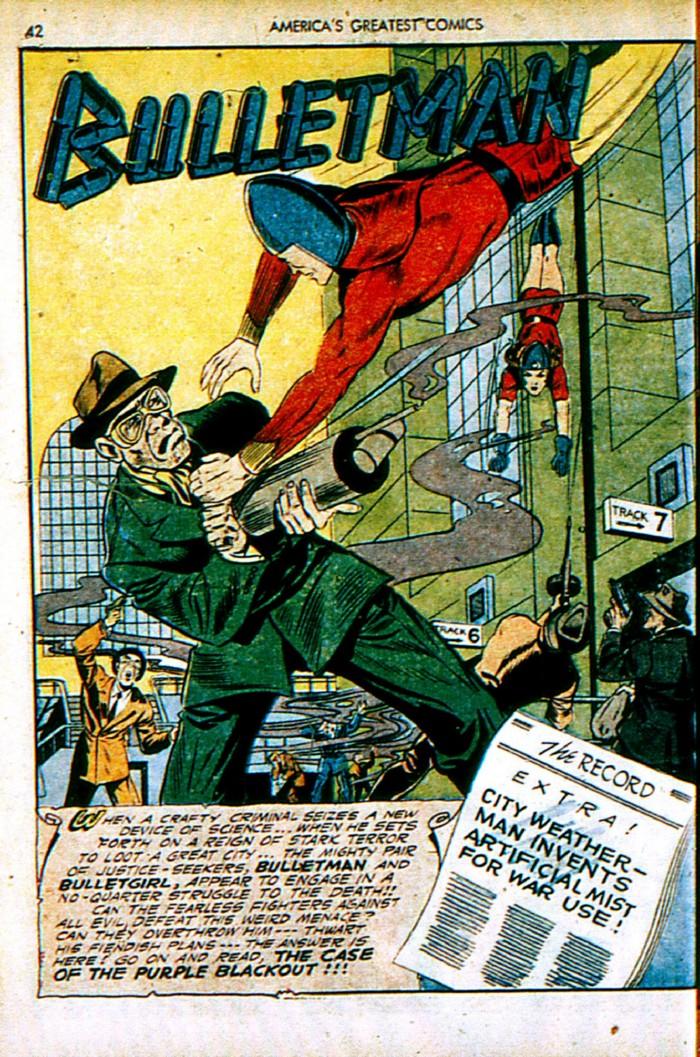 Read online America's Greatest Comics comic -  Issue #4 - 42
