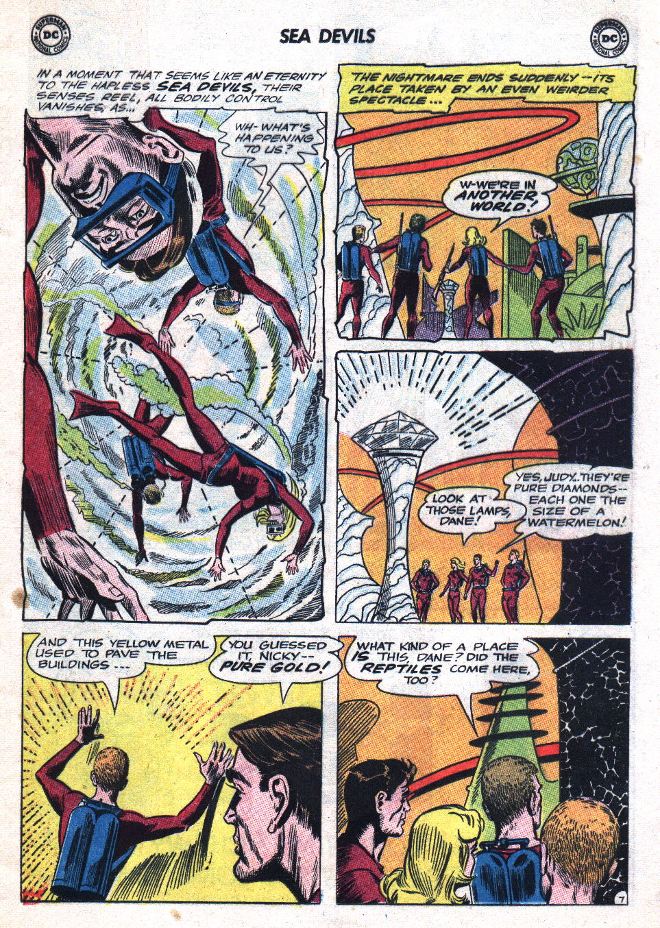 Read online Sea Devils comic -  Issue #20 - 9