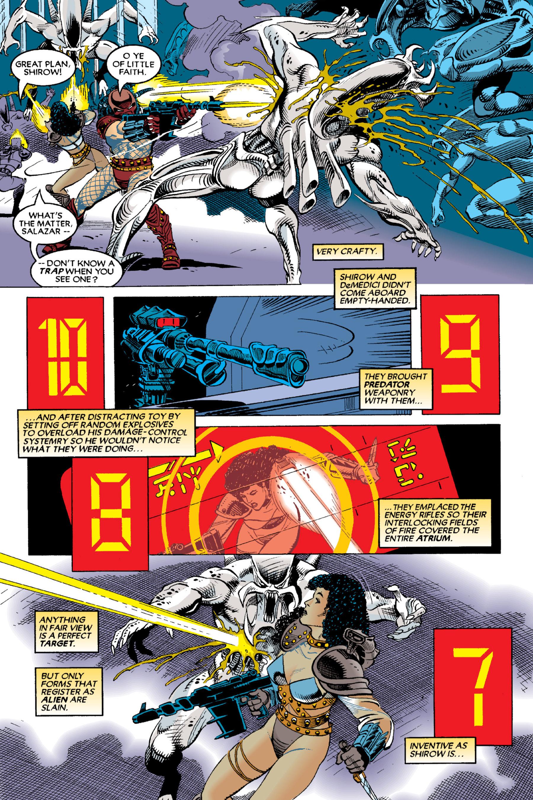 Read online Aliens vs. Predator Omnibus comic -  Issue # _TPB 2 Part 3 - 61